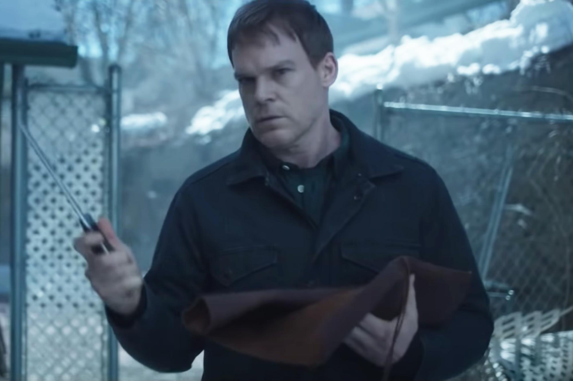 Dexter revival gets premiere date, drops trailer during Comic-Con panel