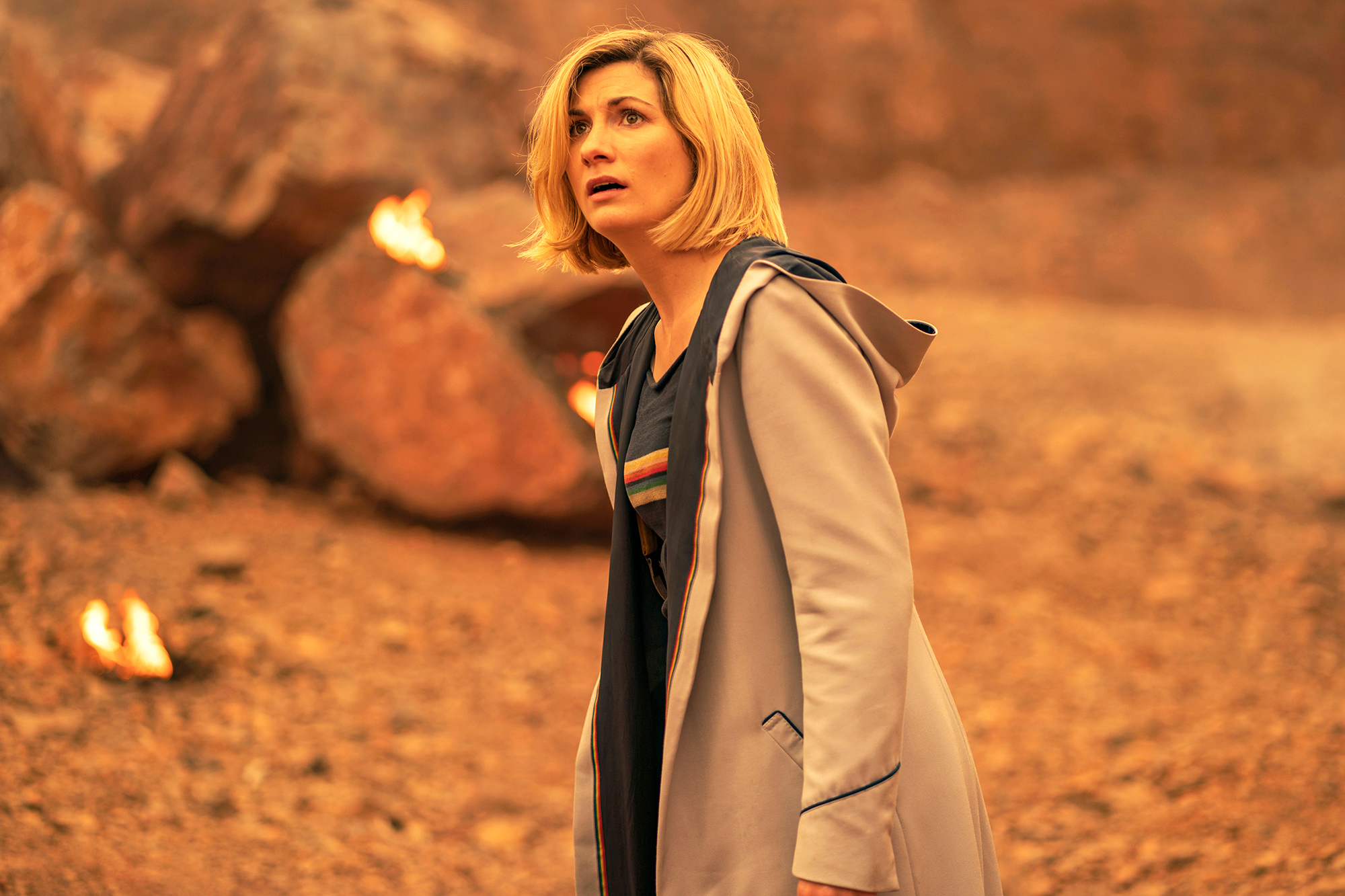 Jodie Whittaker as The Doctor - Doctor Who Season 12, Episode 10