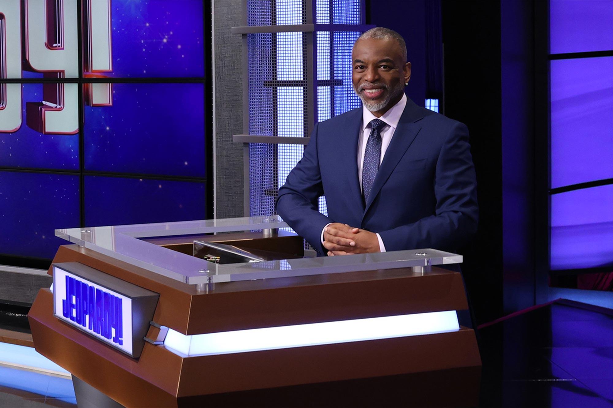 LeVar Burton on Jeopardy