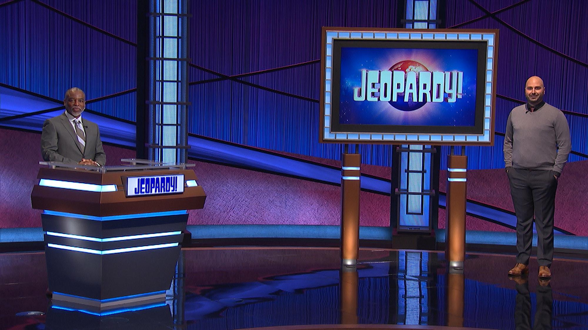 Jeopardy- LeVar Burton and Patrick Pearce