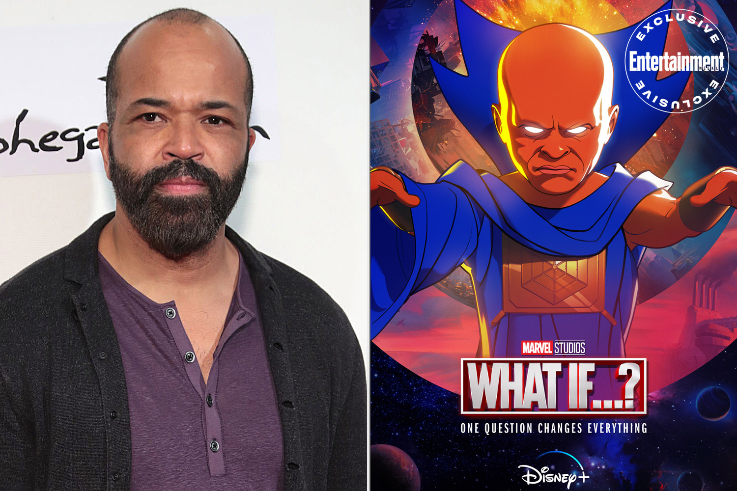 Jeffrey Wright as the Watcher in Marvel's 'What if...?'