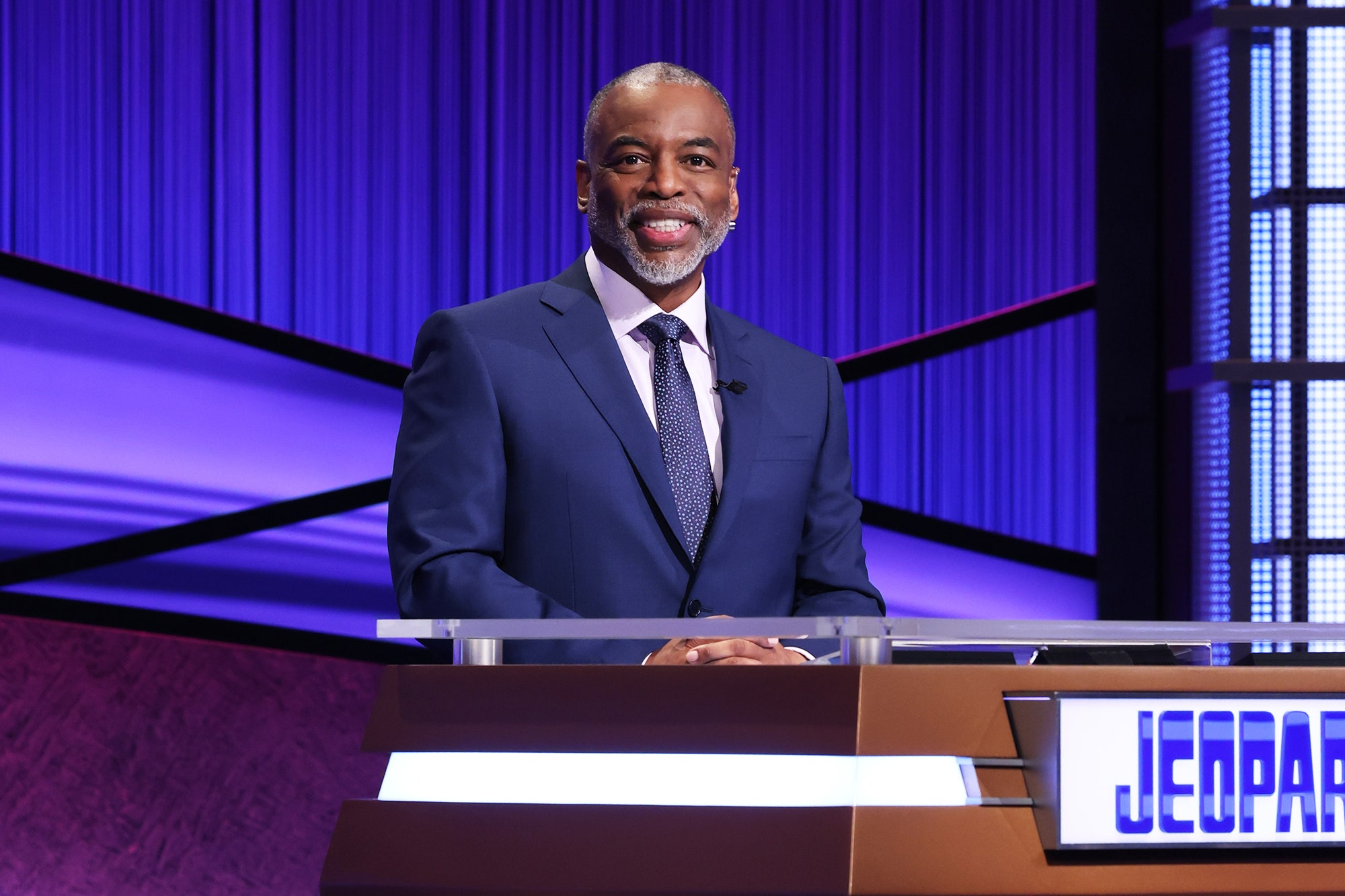 LeVar Burton hosting Jeopardy