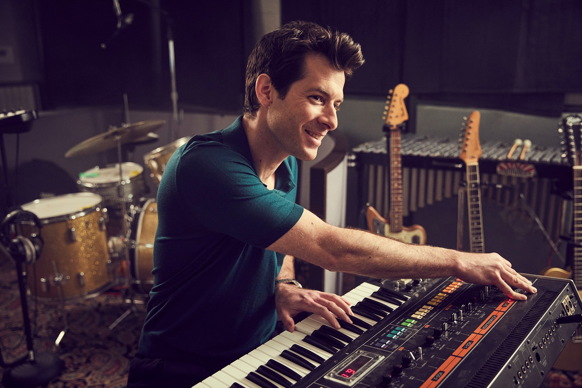 Grammy winning producer Mark Ronson hosts a new show on Apple TV+ titled 'Watch The Sound.'