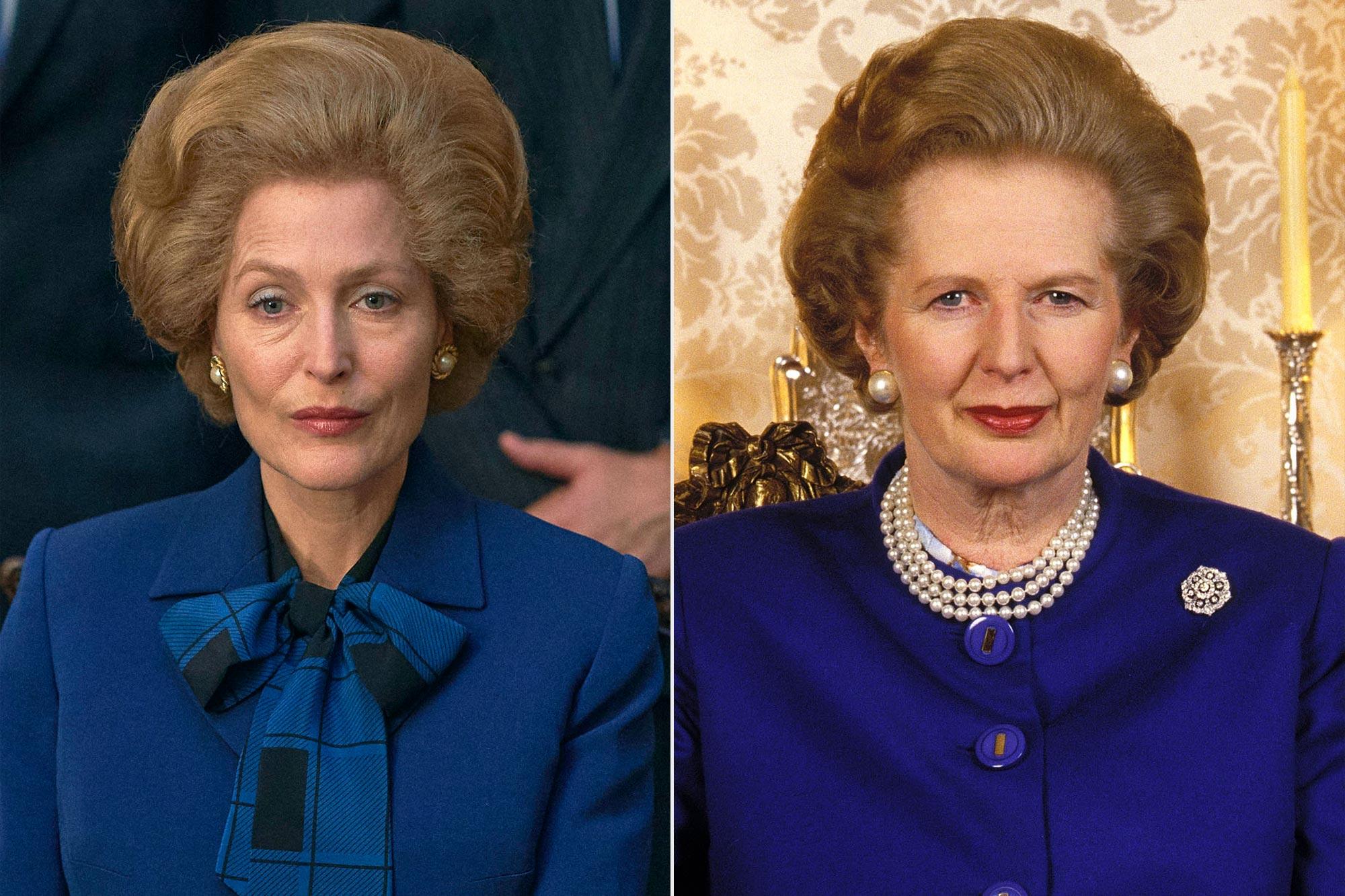 Gillian Anderson; Margaret Thatcher