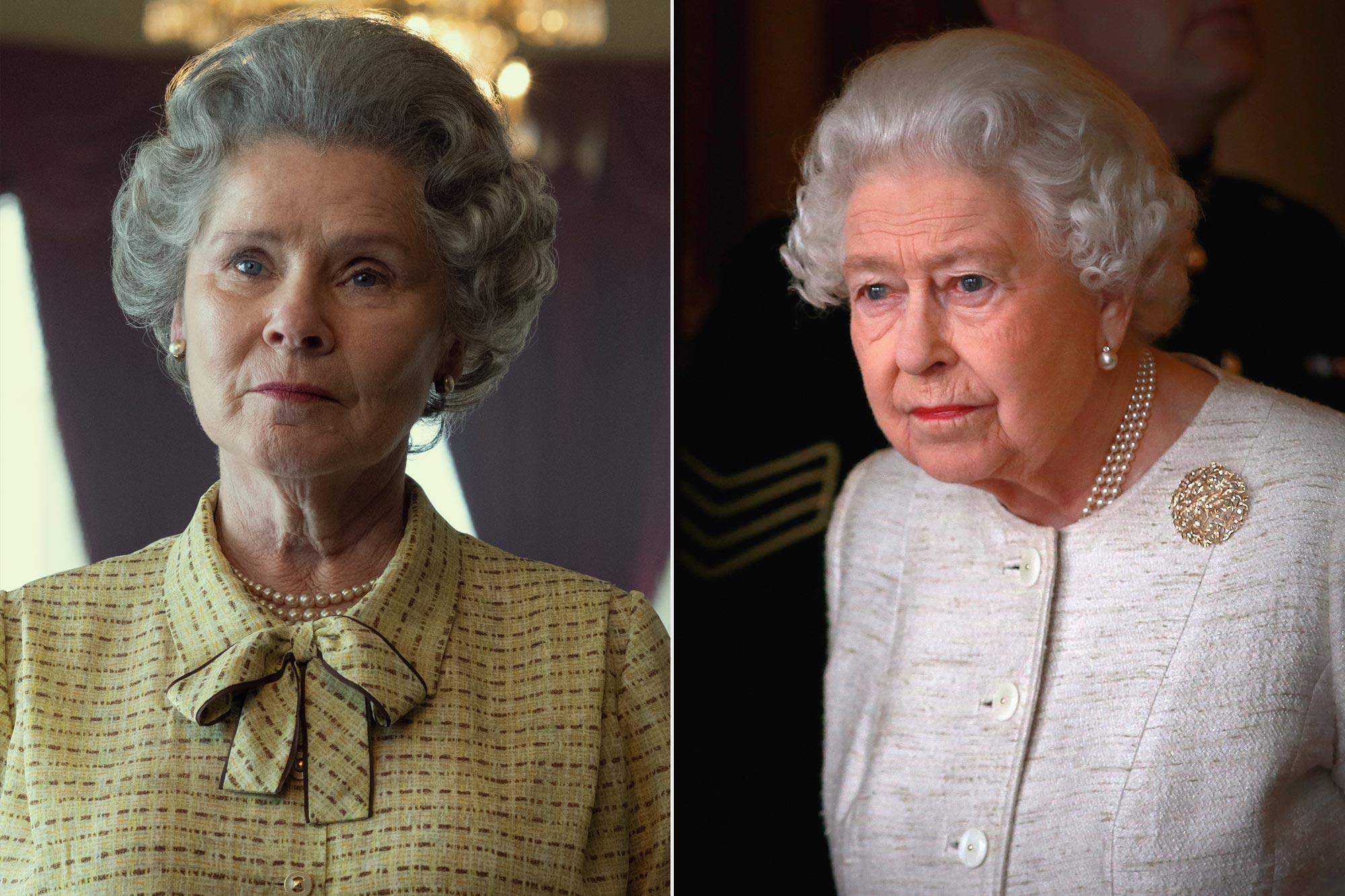 The Crown, Imelda Staunton; Queen Elizabeth II