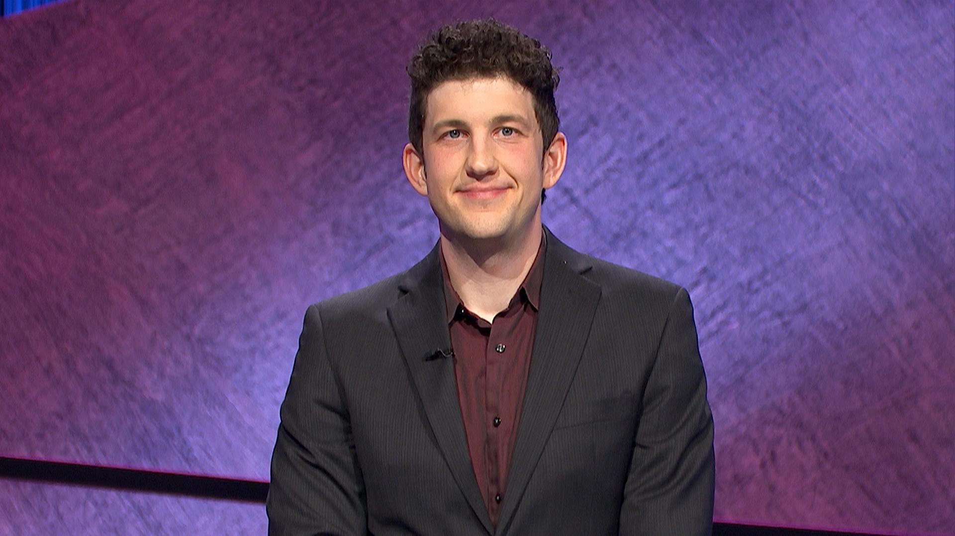 Matt Amodio Jeopardy Champion