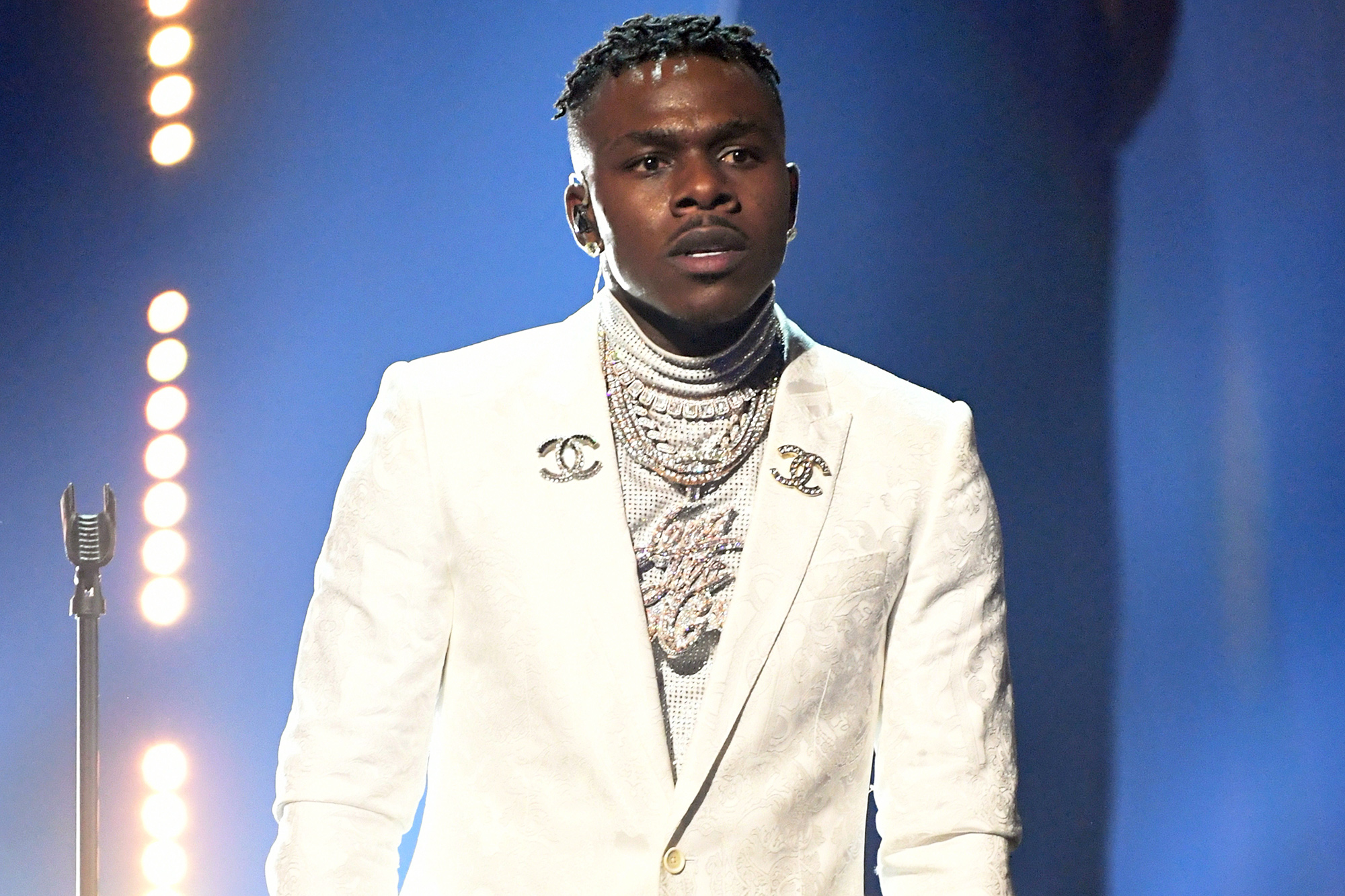 DaBaby performs onstage during the 63rd Annual GRAMMY Awards at Los Angeles Convention Center in Los Angeles, California and broadcast on March 14, 2021.