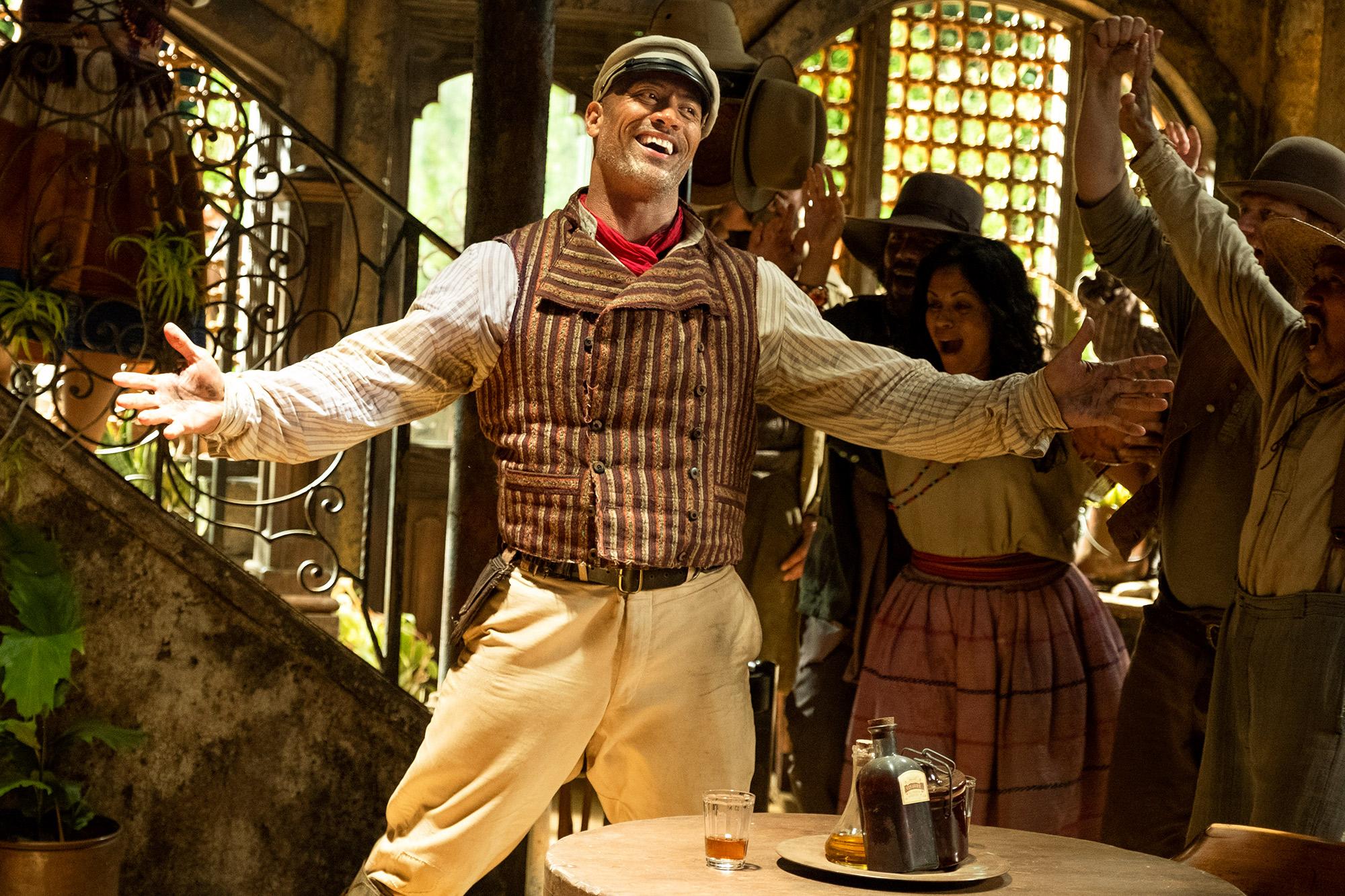 Dwayne Johnson is Frank Wolff in Disney's Jungle Cruise