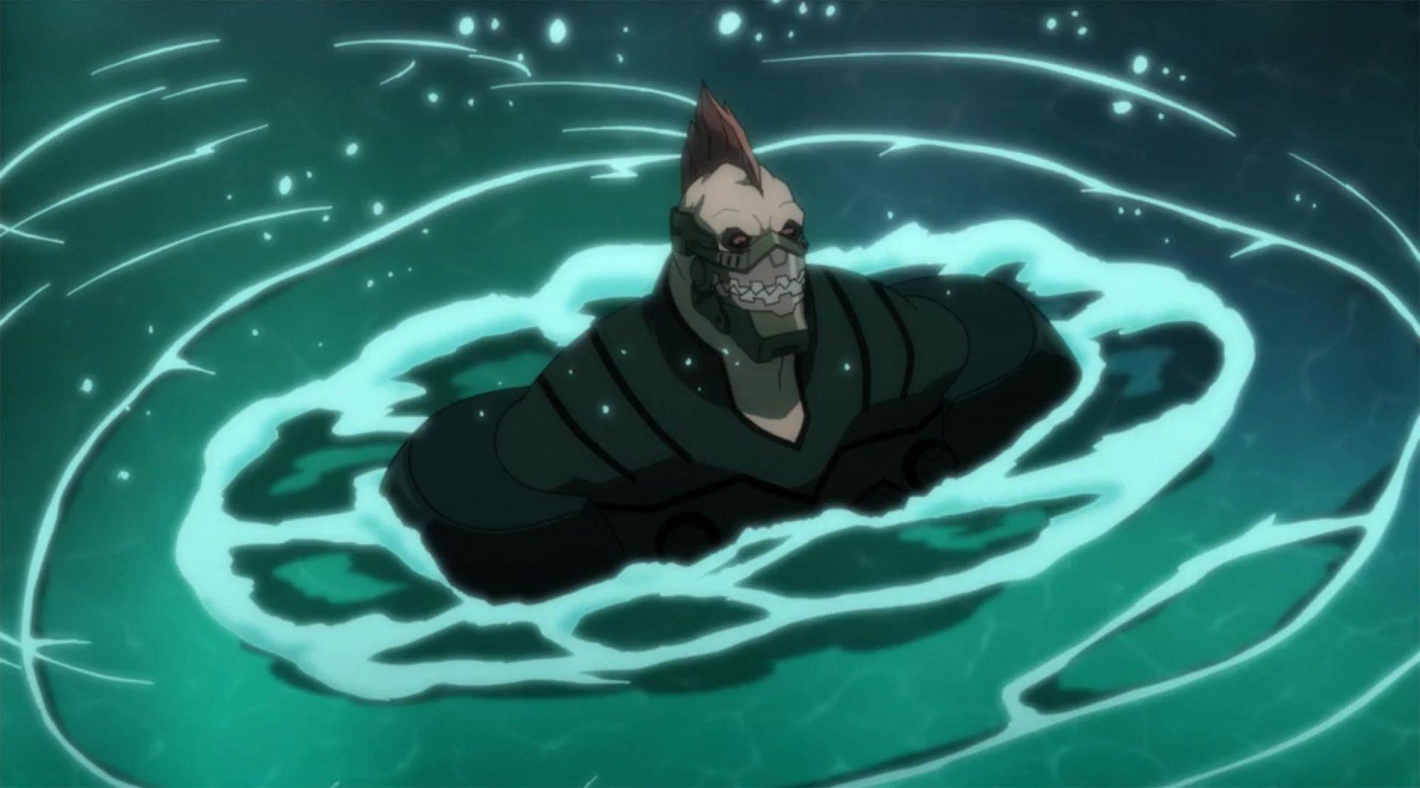 King Shark in Batman Assault on Arkham