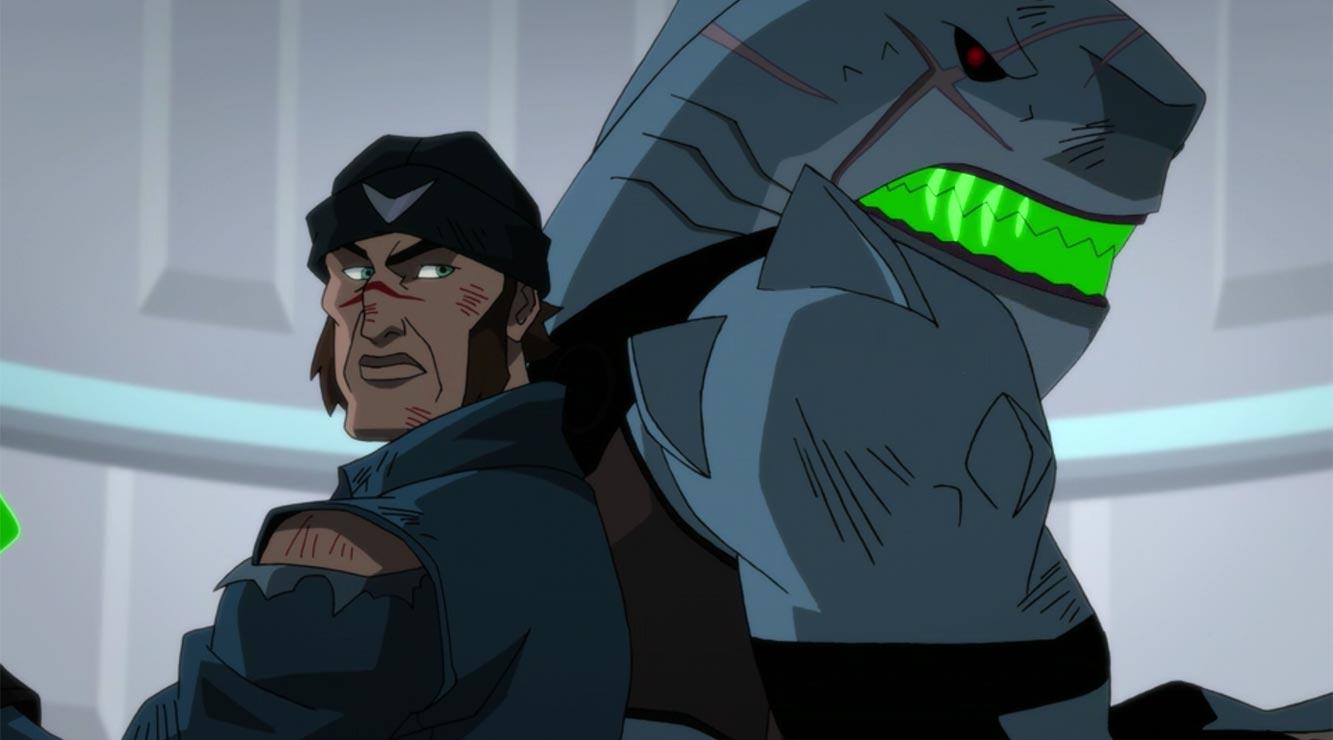 King Shark in Justice League Dark: Apokolips War