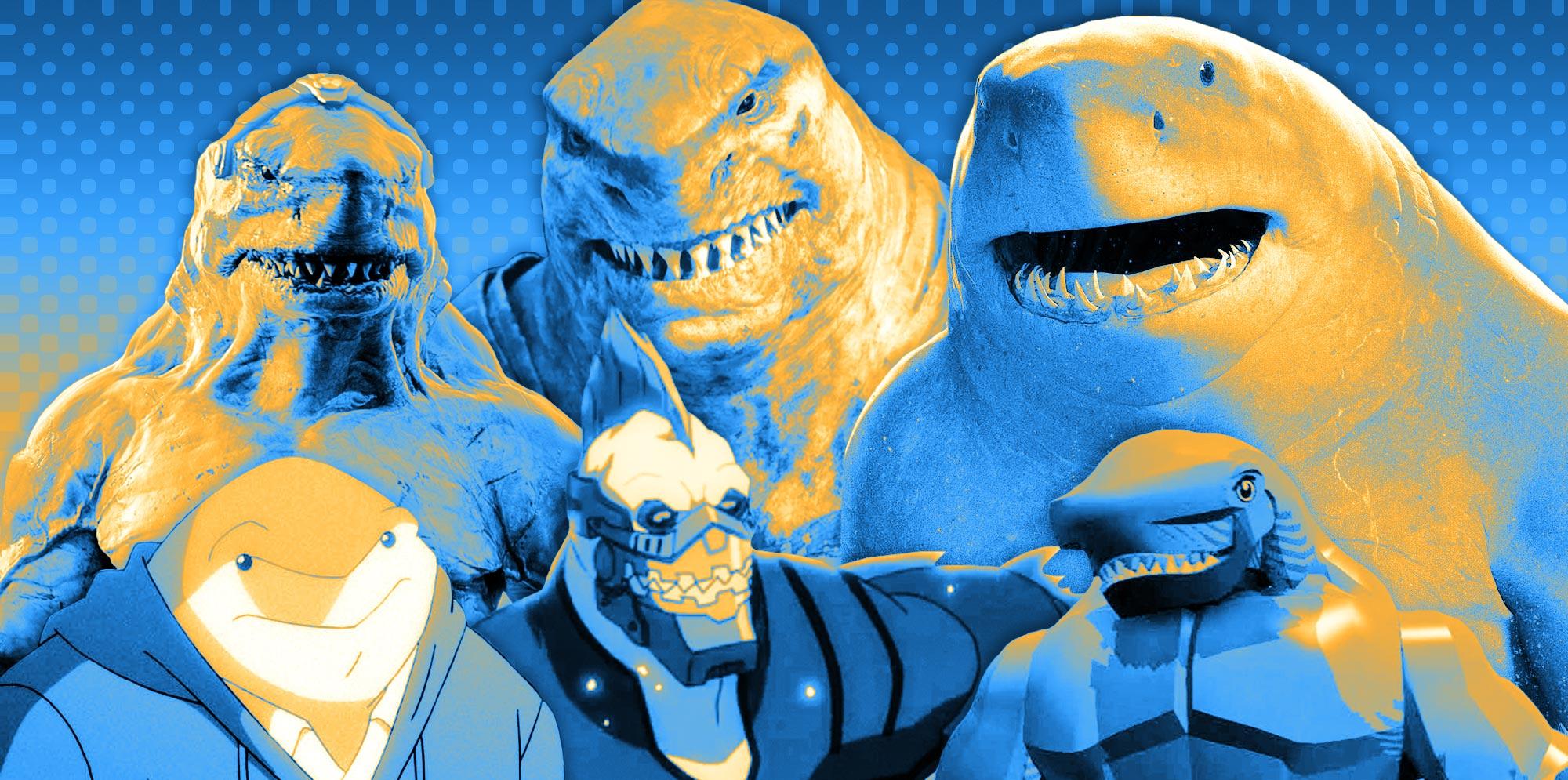 King Shark Evolution