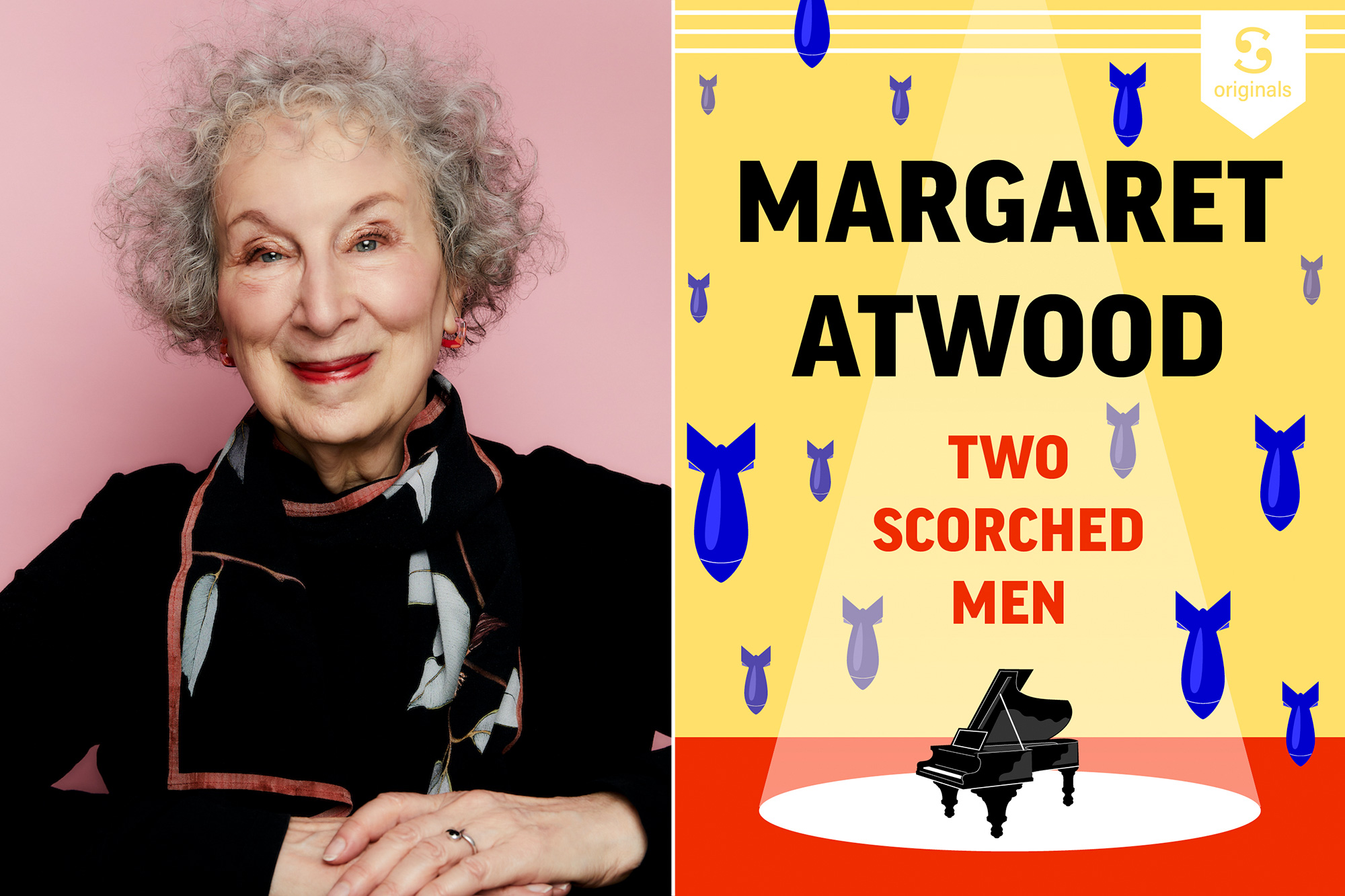 Margaret Atwood's latest piece of fiction is 'Two Scorched Men'