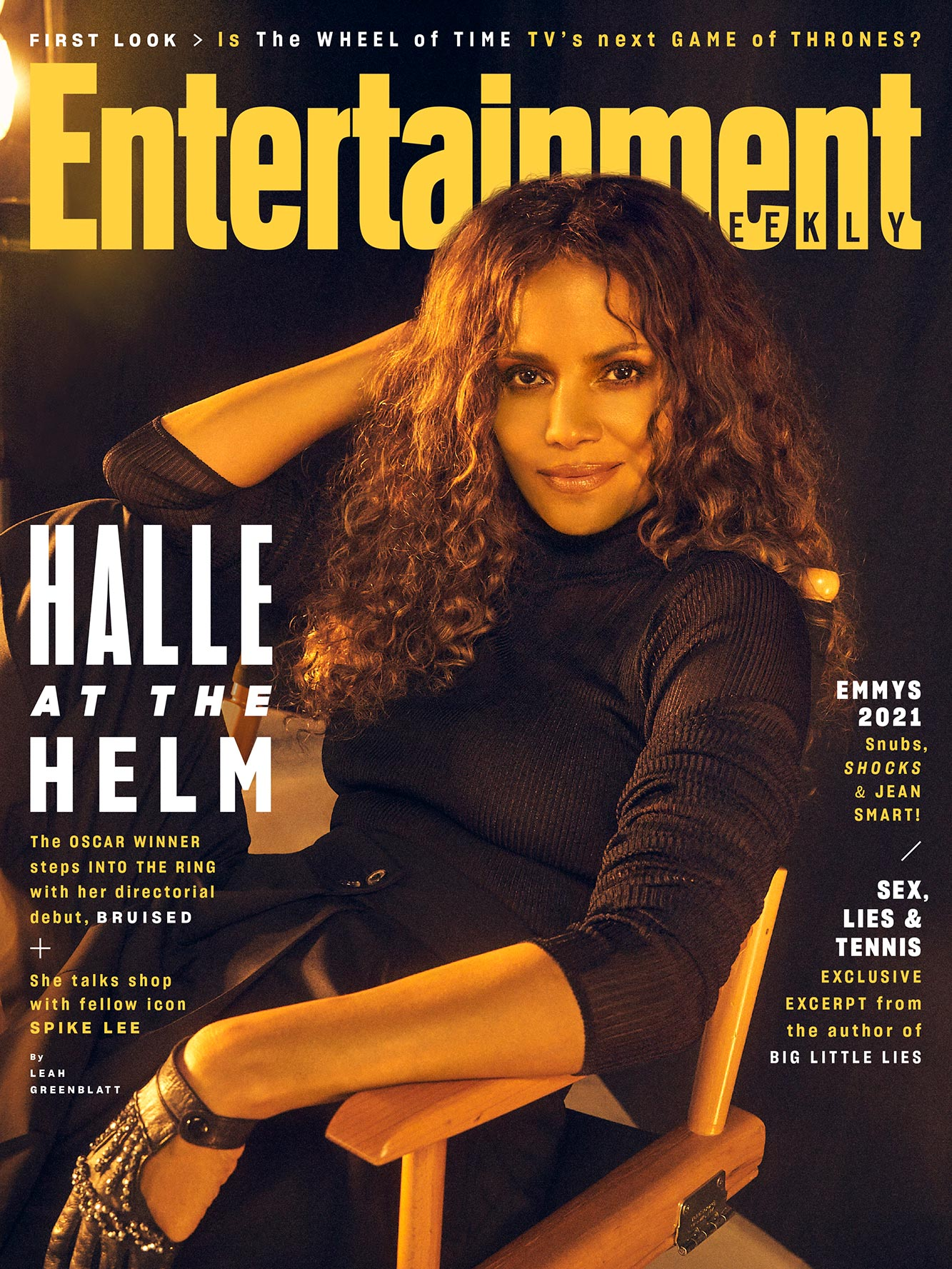 September 2021 cover - Halle Berry