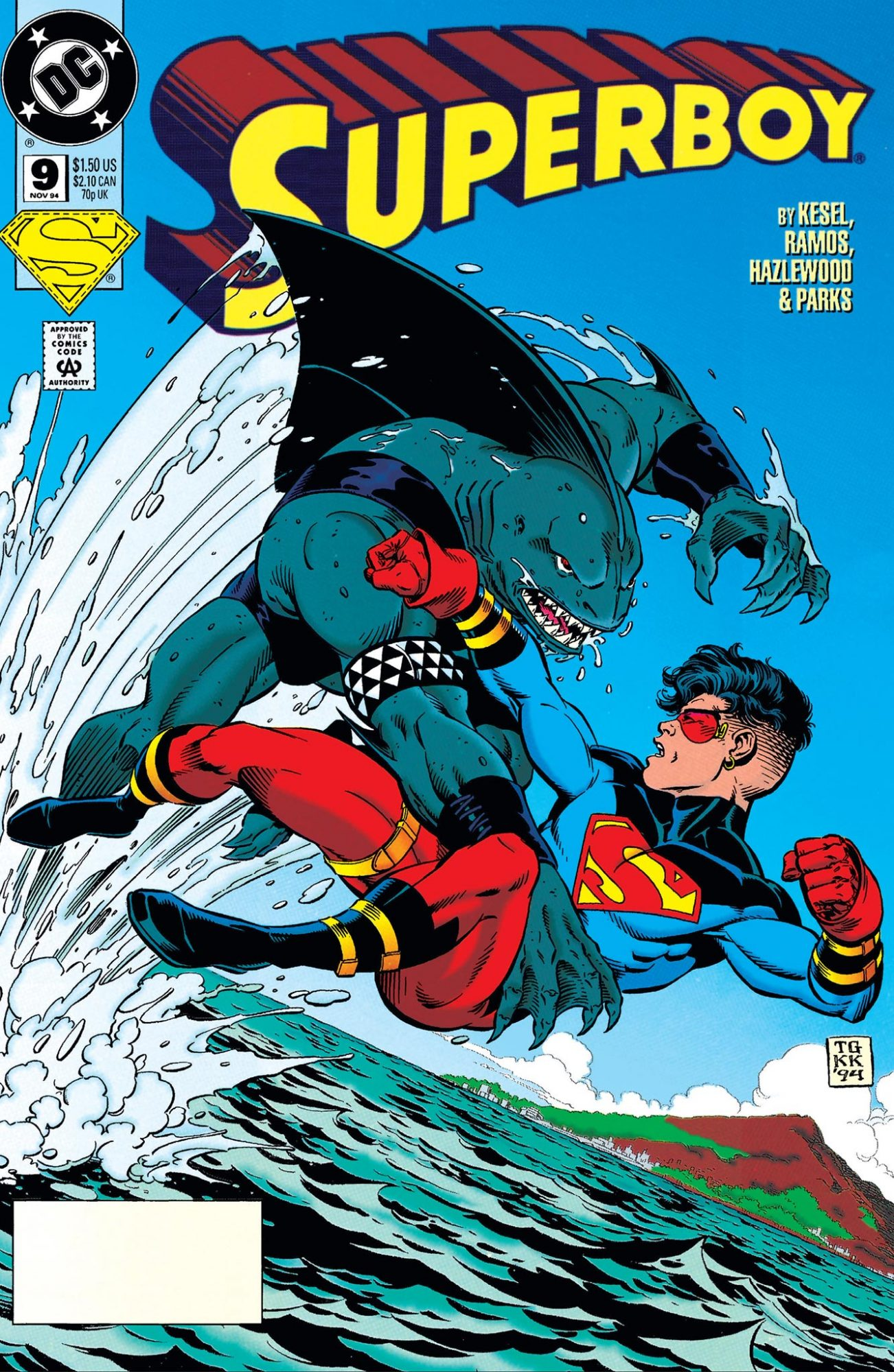 King Shark comics