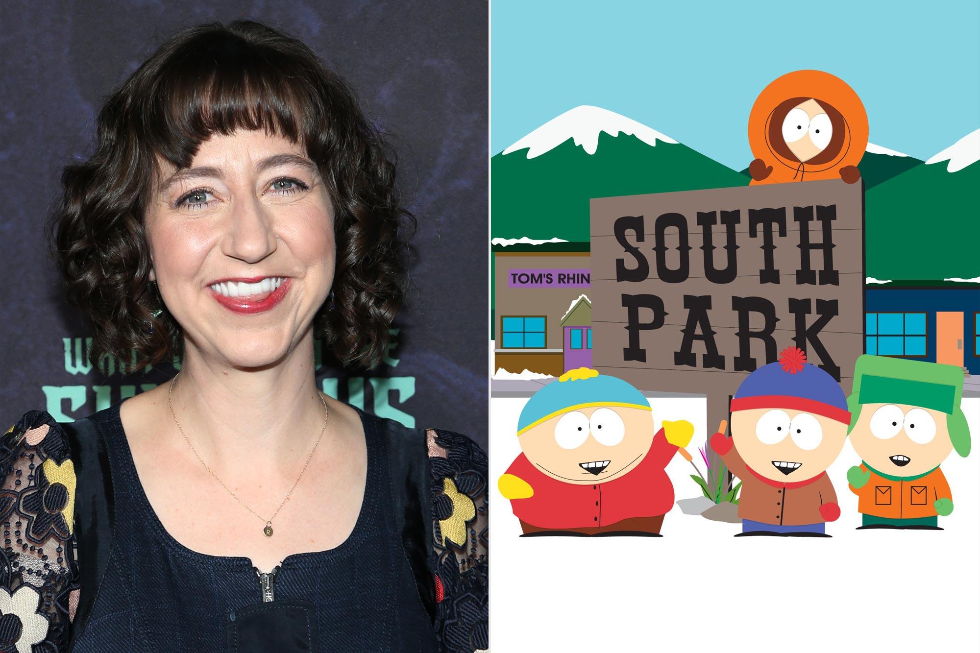 Kristen Schaal; South Park