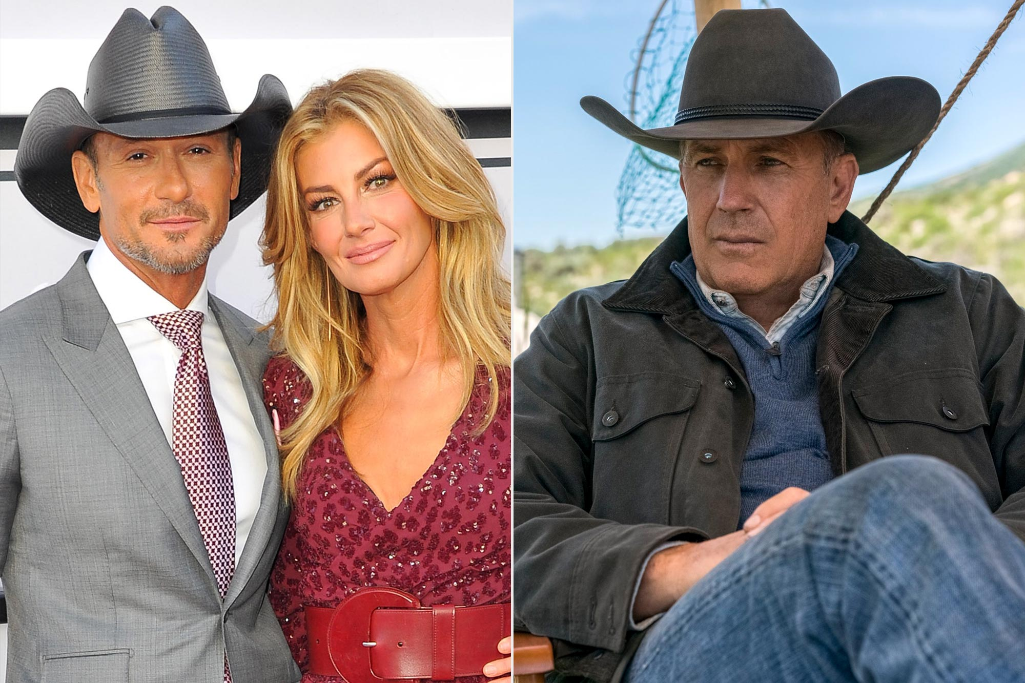 Tim McGraw and Faith Hill; Yellowstone