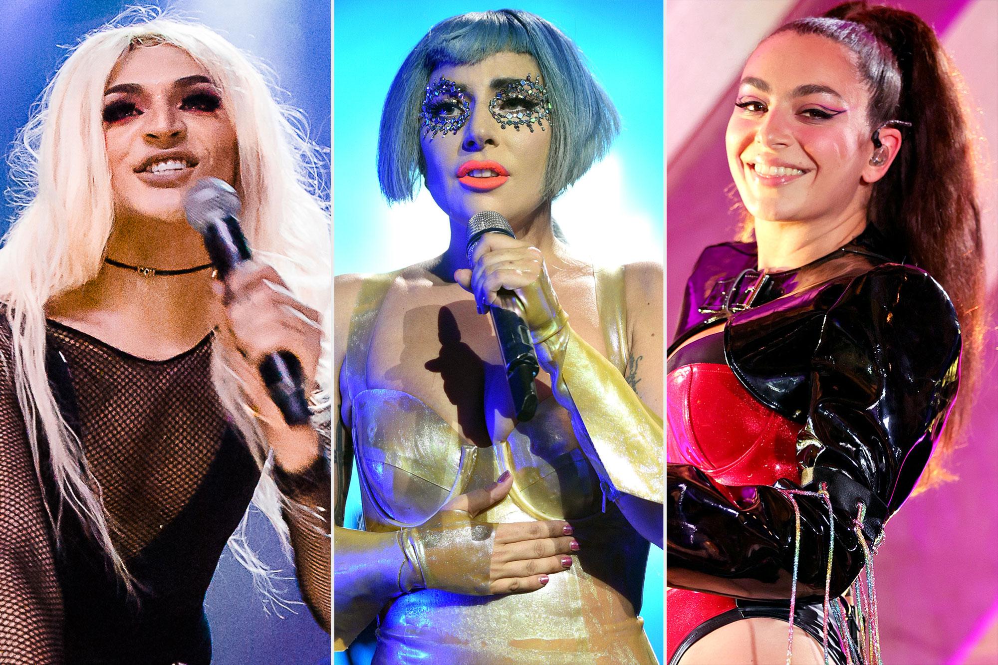 Pablo Vittar; Lady Gaga; Charli XCX