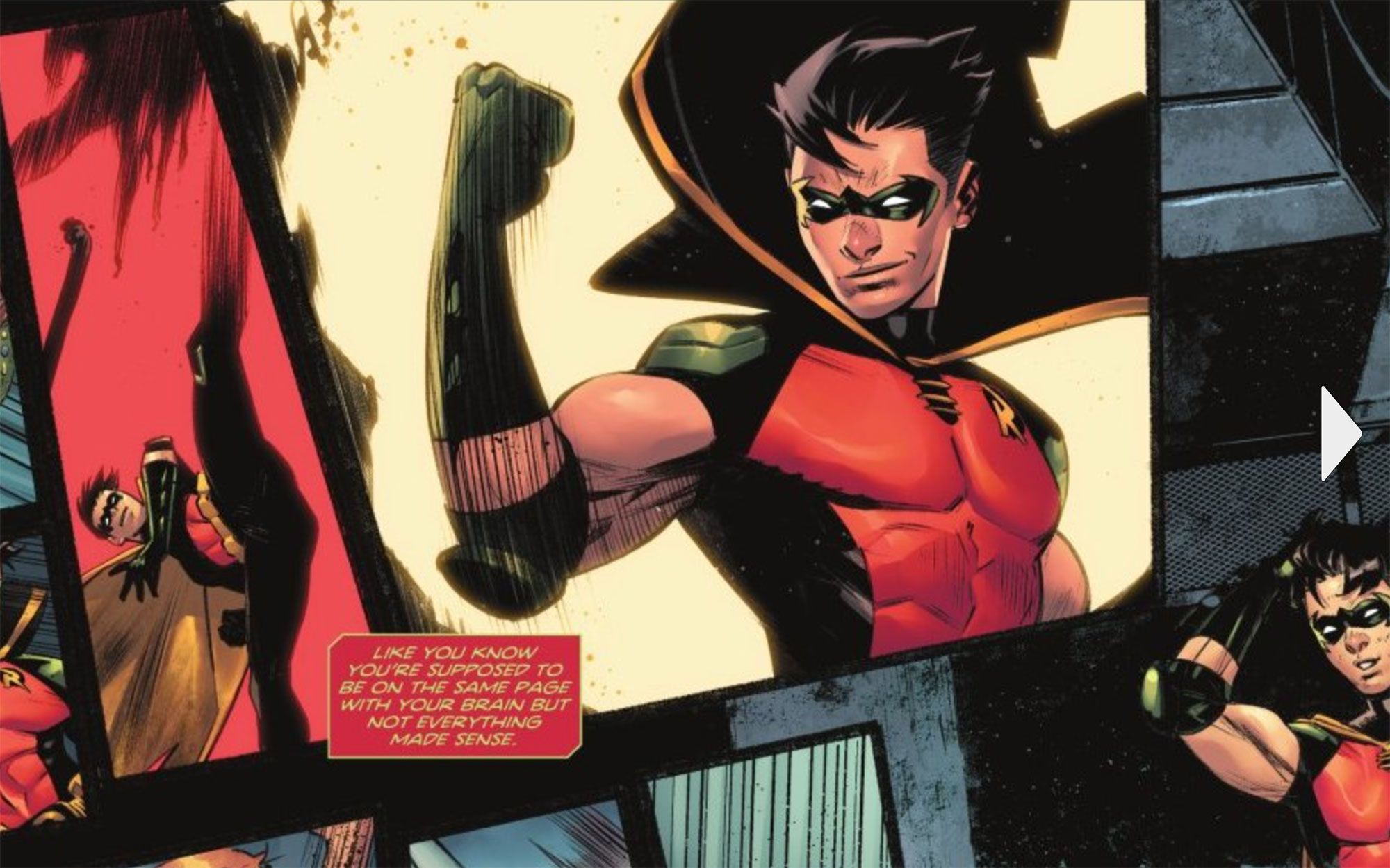 Batman: Urban Legends #6 Robin