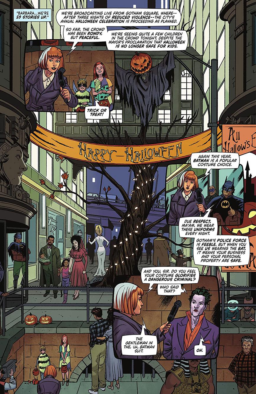 Batman '89 comic Prince cameo