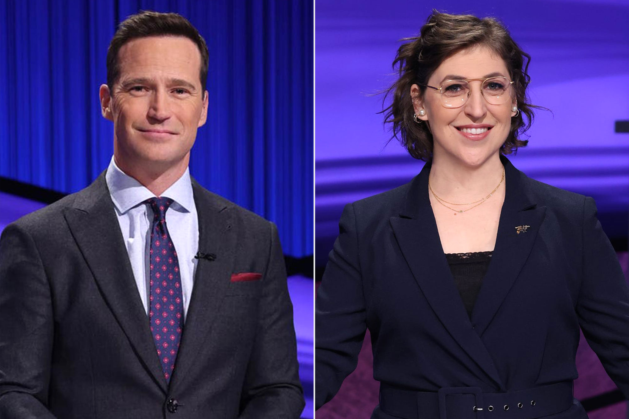 Mike Richards and Mayim Bialik new cohosts of Jeopardy