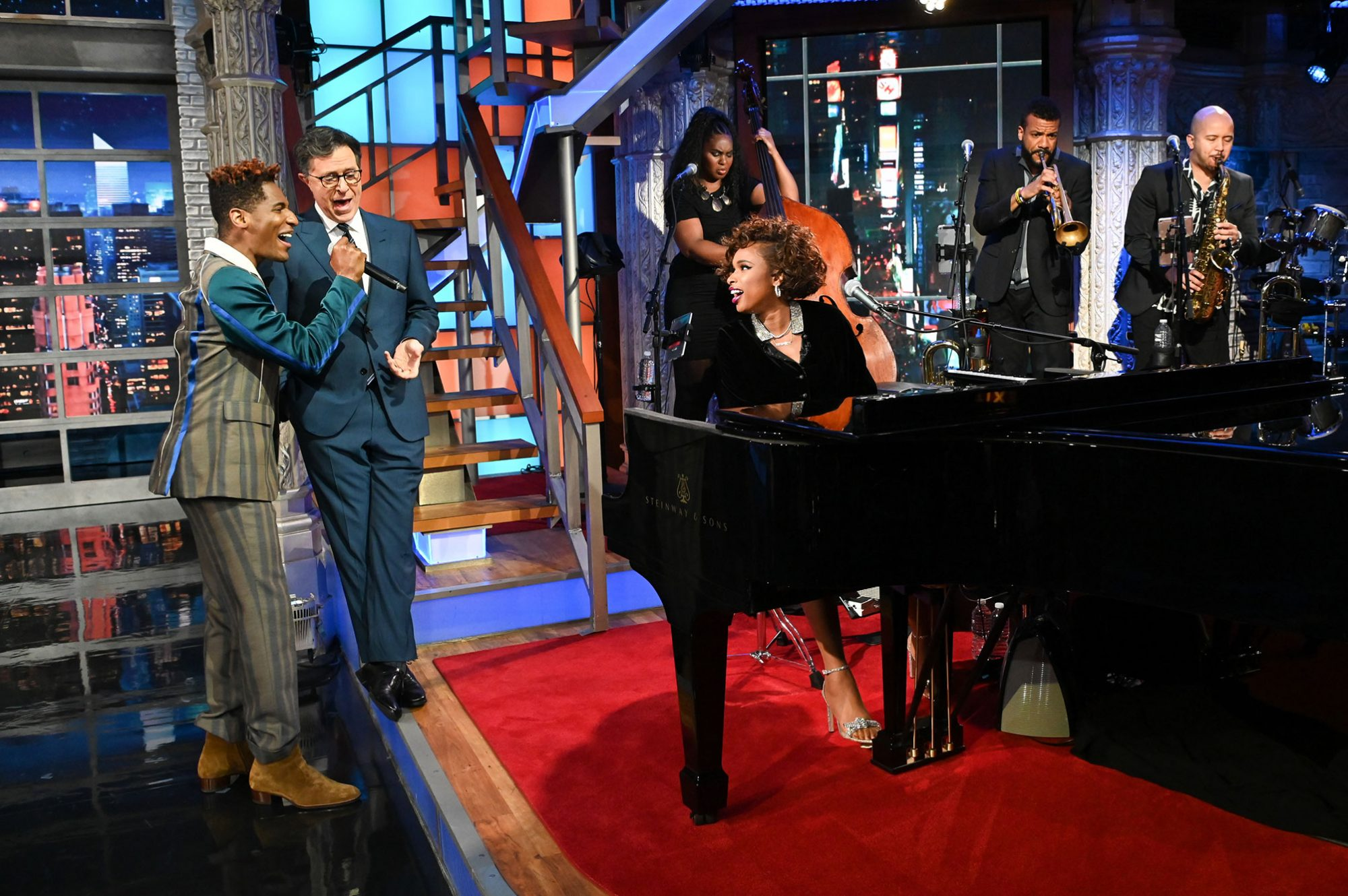 The Late Show with Stephen Colbert- Jennifer Hudson