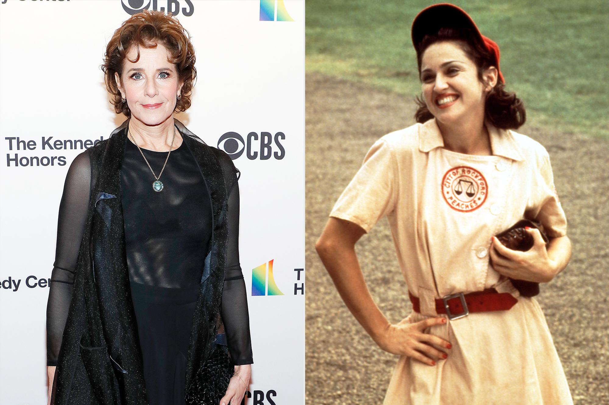 Debra Winger and Madonna