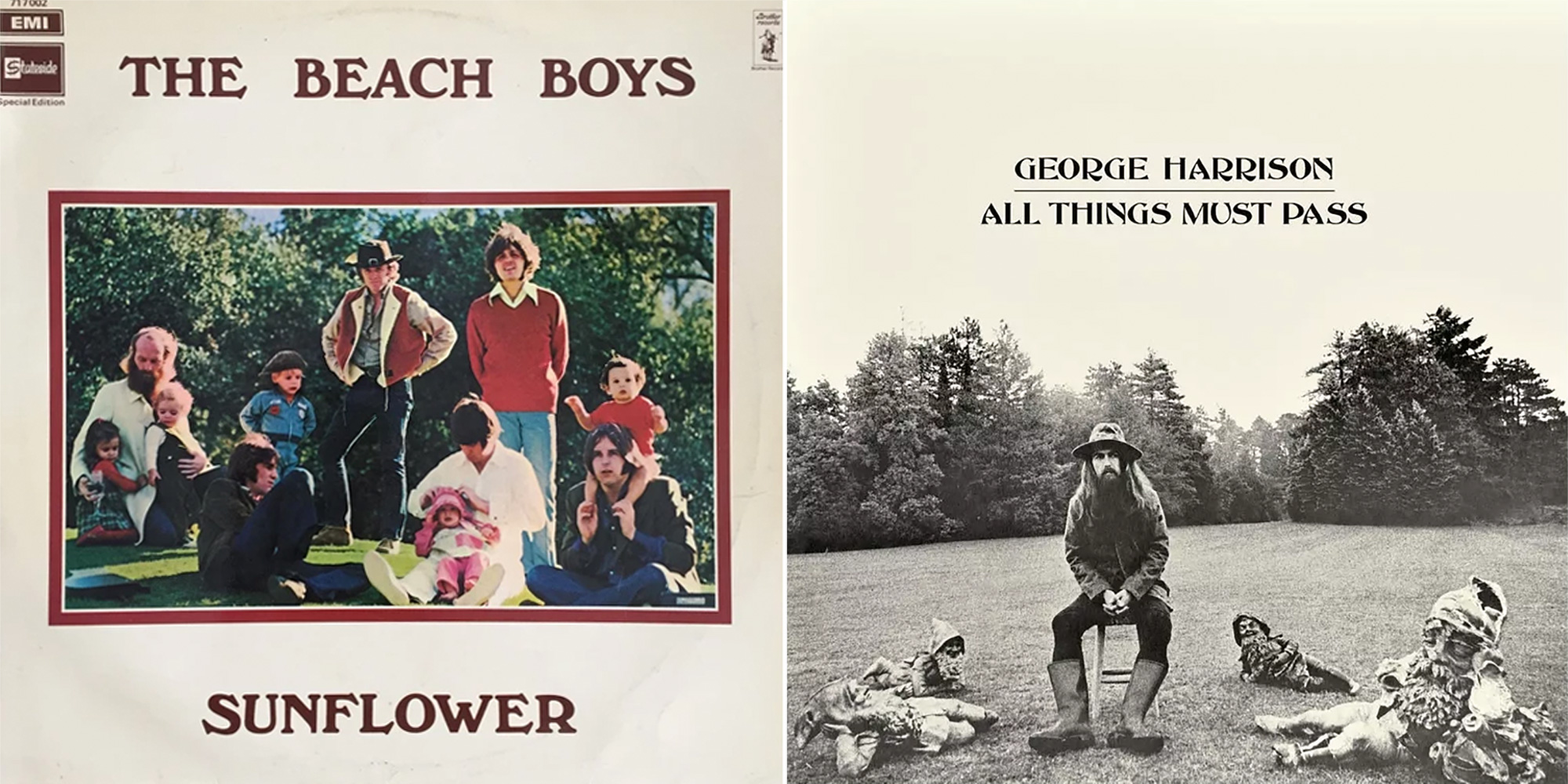 Beach Boys, George Harrison
