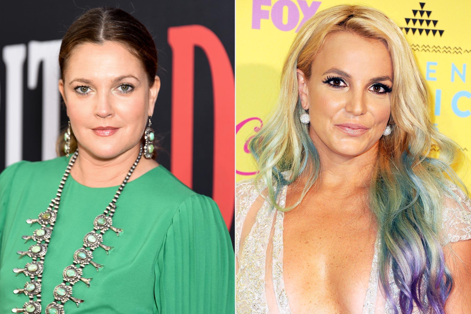 Drew Barrymore; Britney Spears