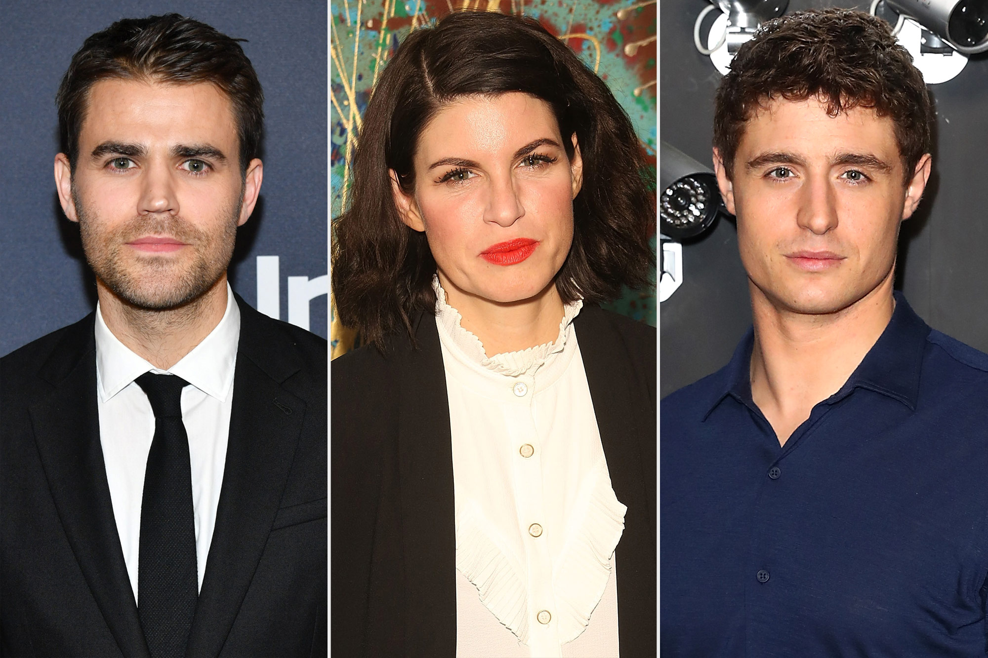 Paul Wesley, JEMIMA ROOPER, and MAX IRONS