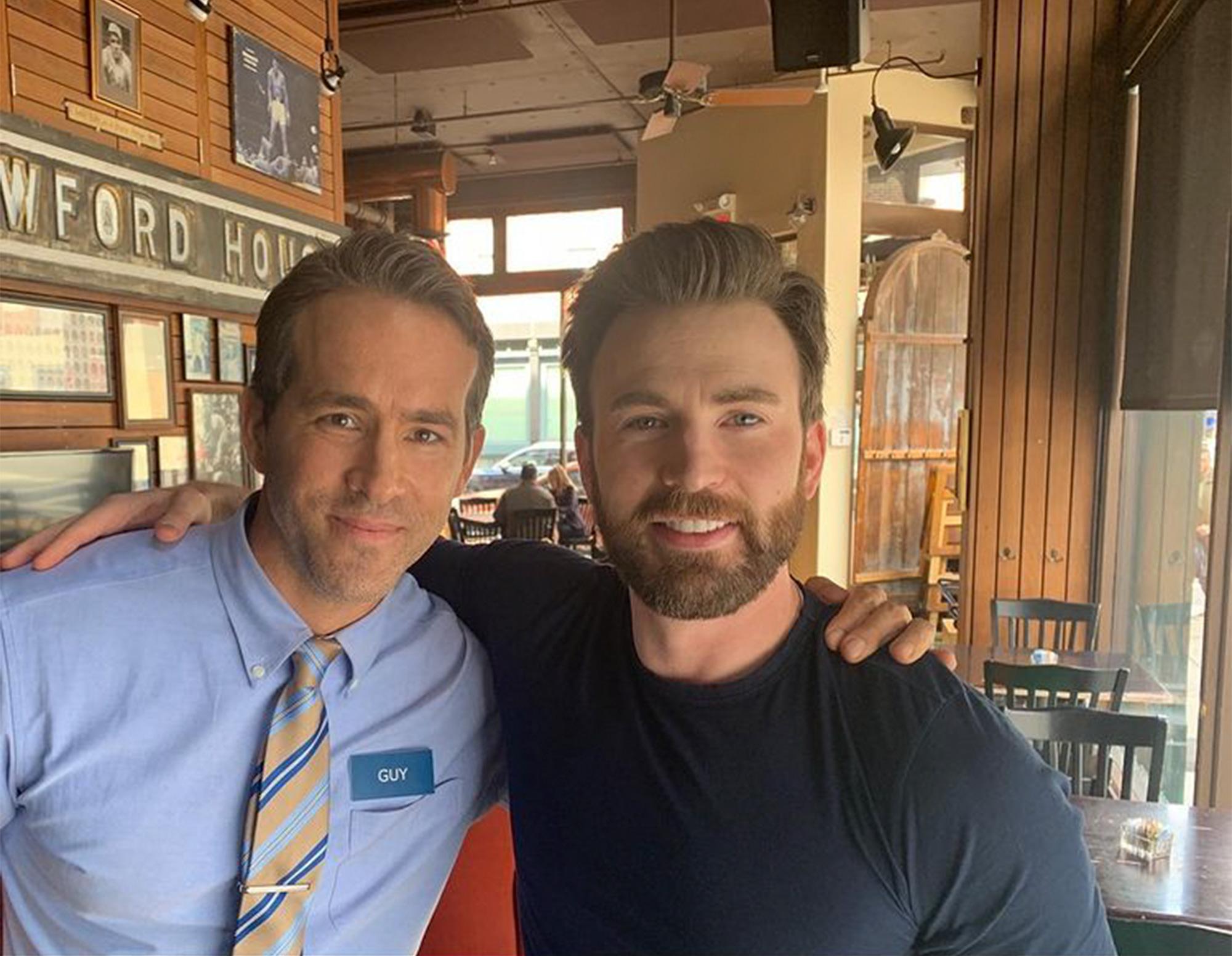 Ryan Reynolds and Chris Evans