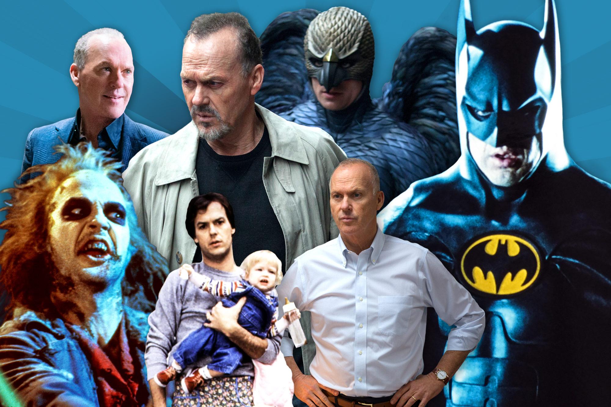 Michael Keaton Role Call