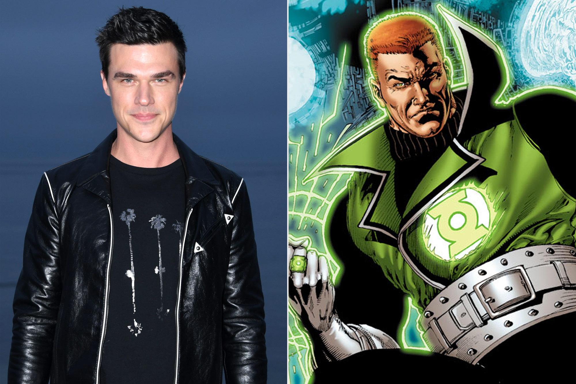 Finn Wittrock; Guy Gardner Green Lantern