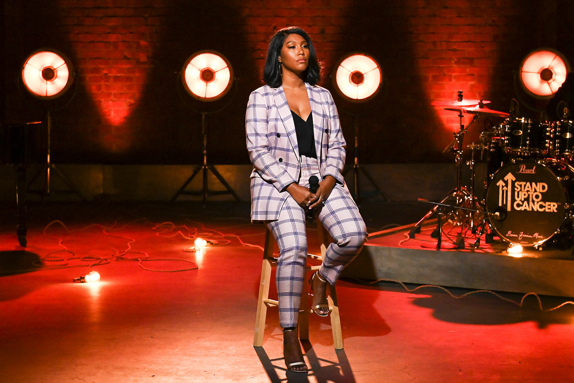 Simone Boseman Pays Tribute to Late Husband Chadwick Boseman During 2021 Stand Up to Cancer Telecast