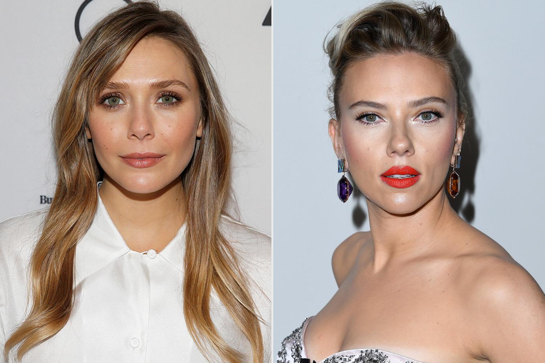 Elizabeth Olsen, Scarlett Johansson
