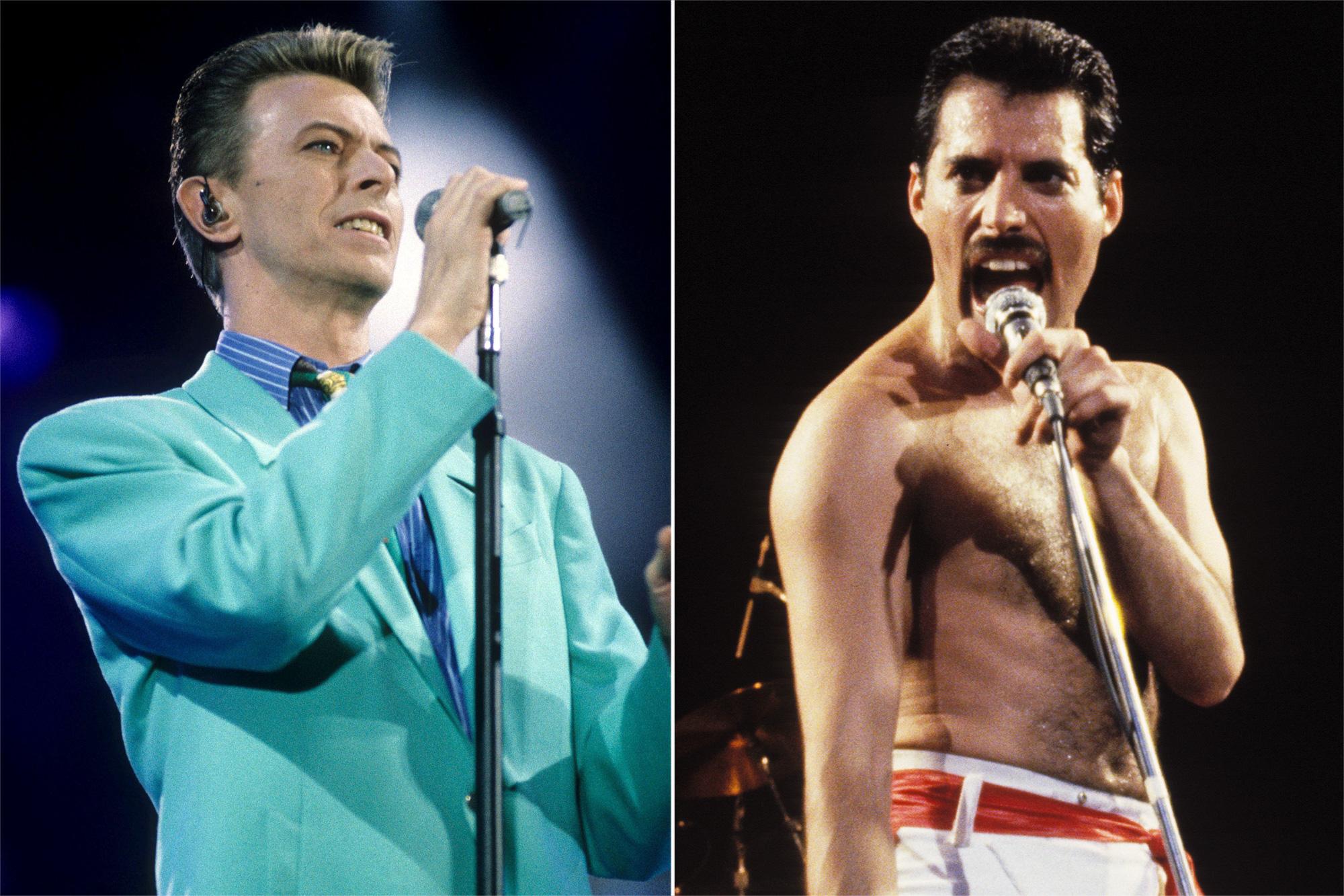 David Bowie, Freddie Mercury
