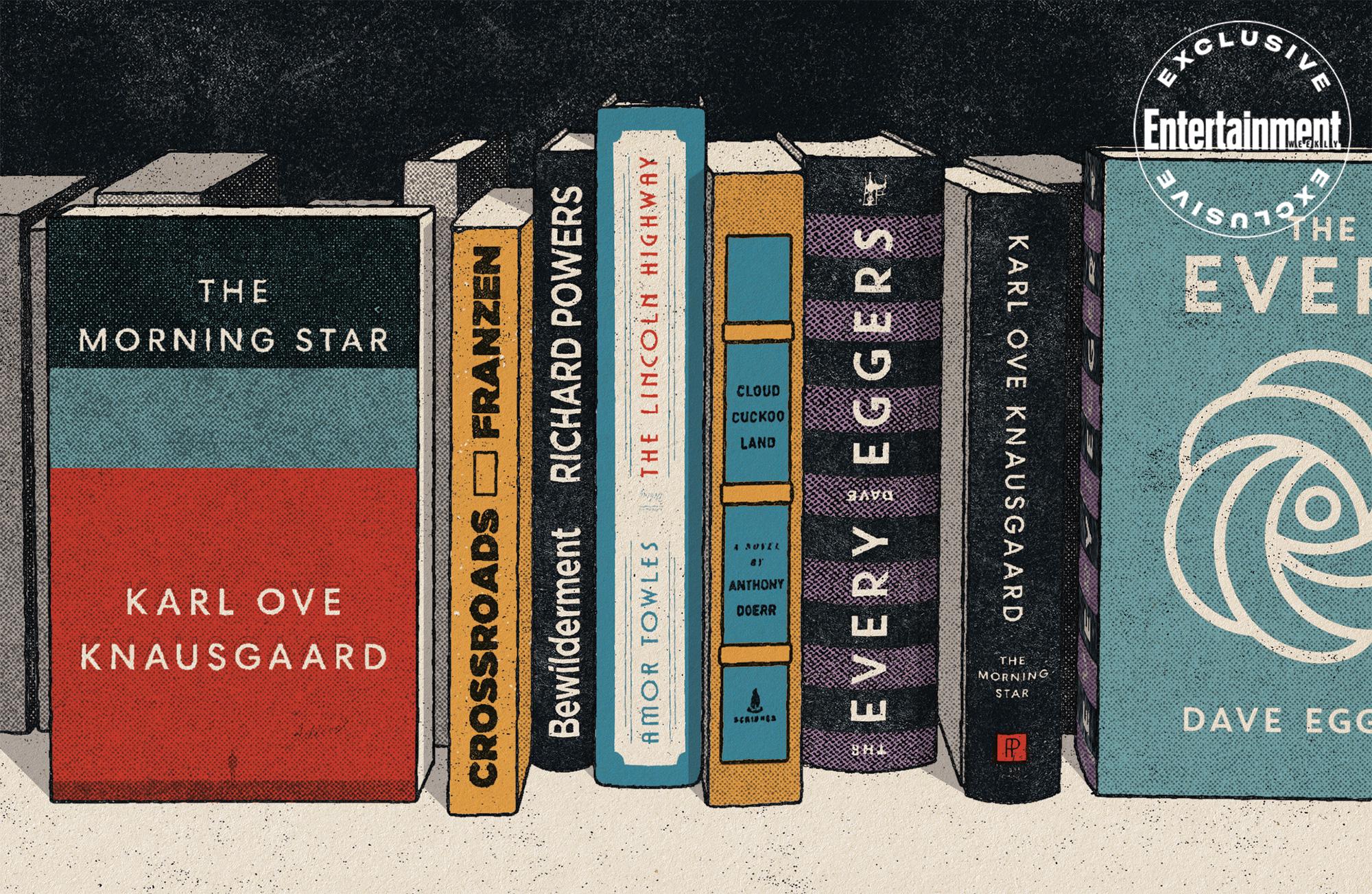 October Read book jackets