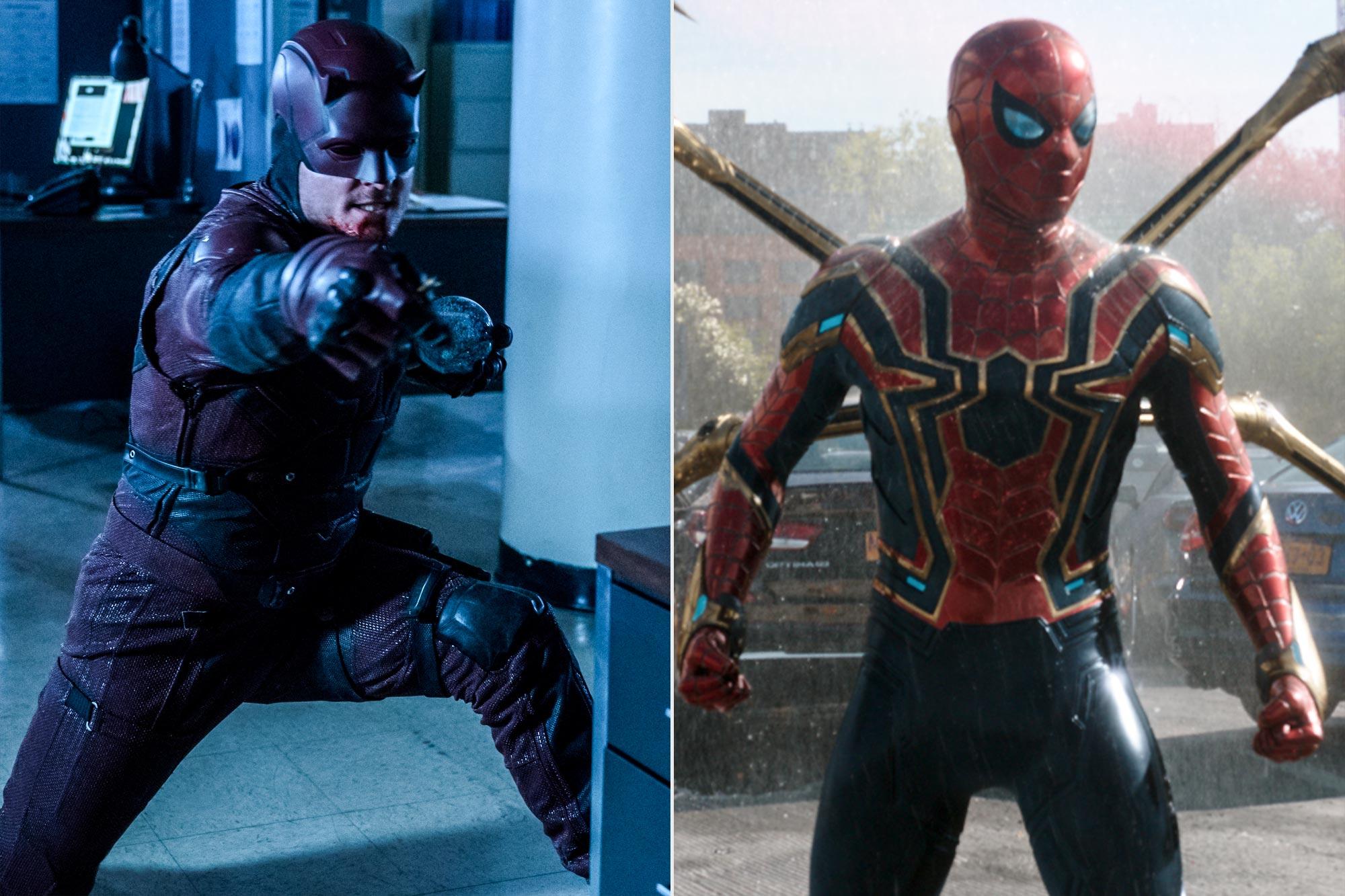Daredevil; Spider-man No Way Home