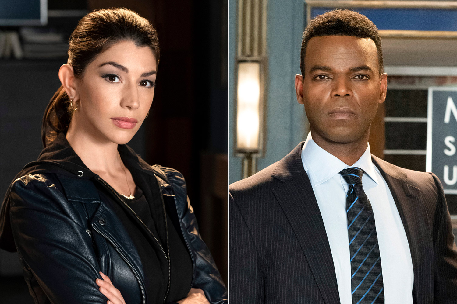 Jamie Gray Hyder and Demore Barnes on Law & Order: SVU