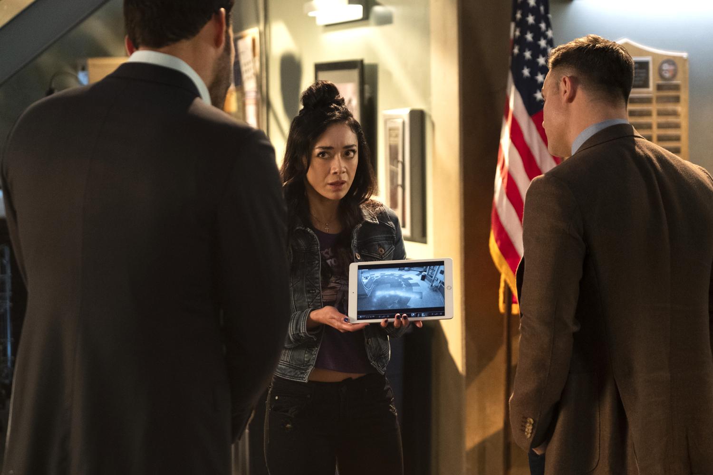 LUCIFER (L to R) AIMEE GARCIA as ELLA in episode 602 of LUCIFER