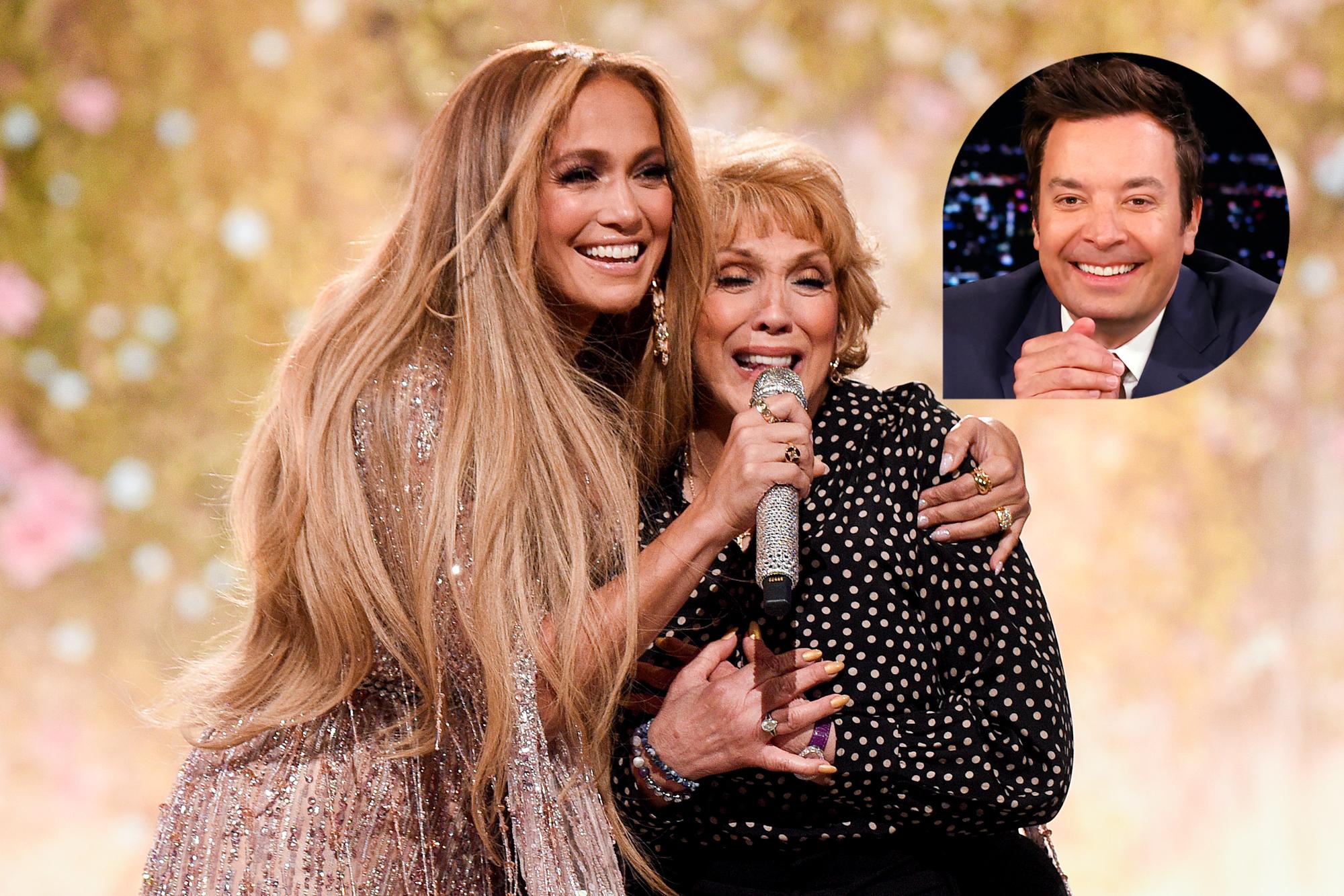 Jennifer Lopez and Guadalupe Rodríguez; Jimmy Fallon