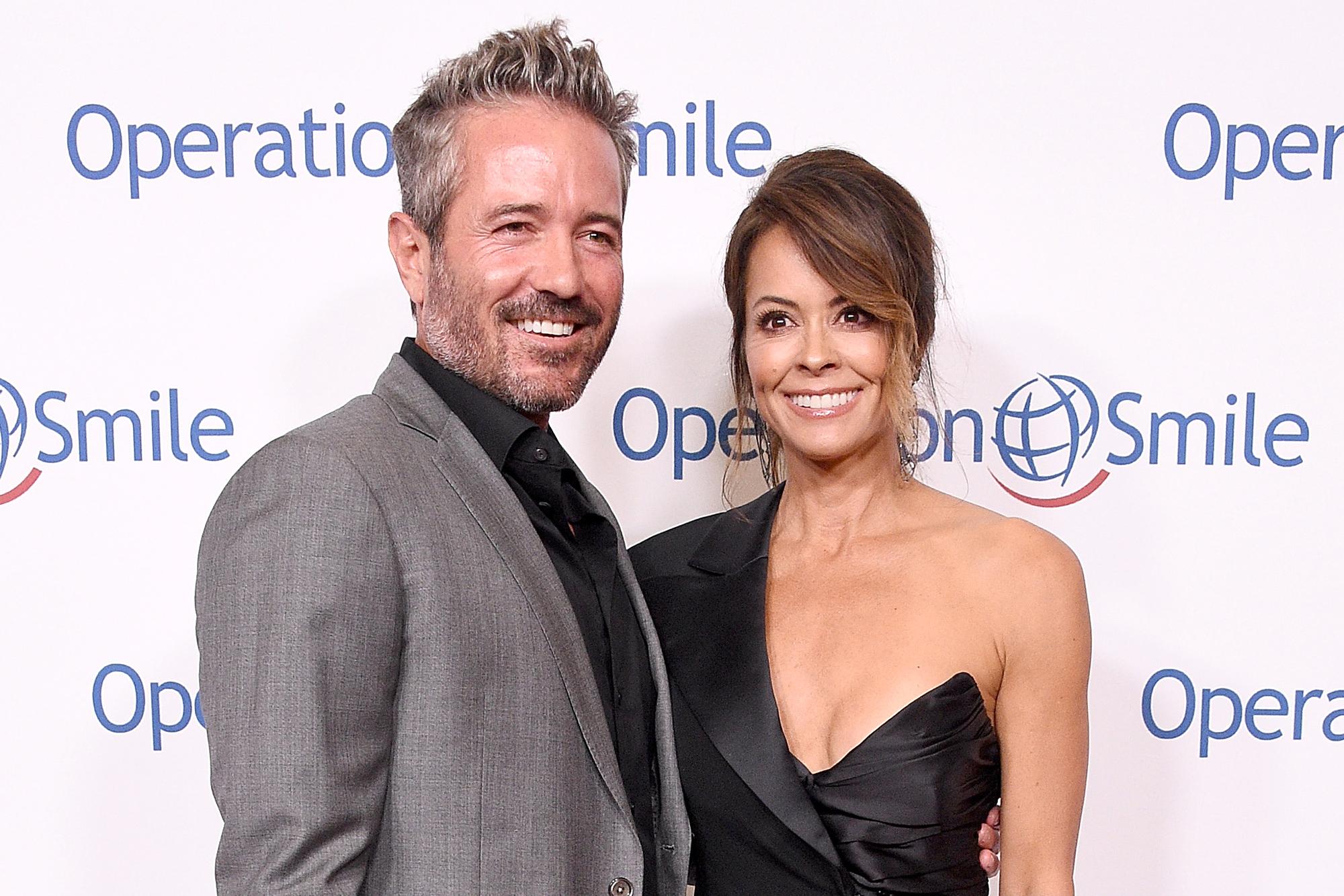 Brooke Burke and Scott Rigsby