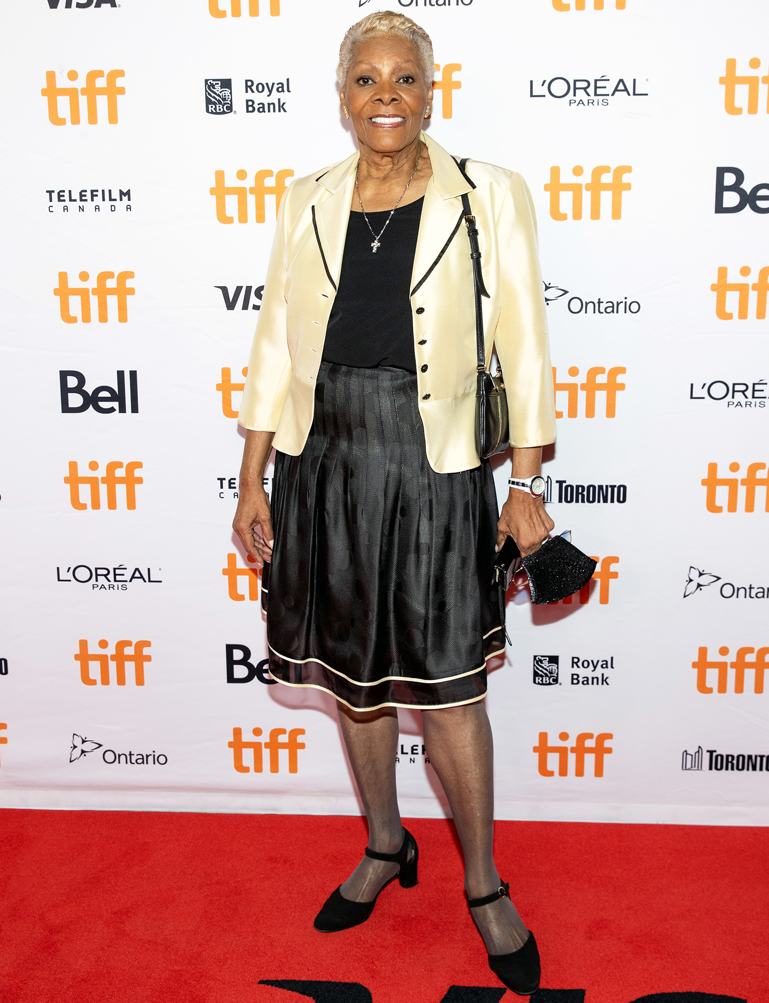 """Dionne Warwick attends the """"Dionne Warwick: Don't Make Me Over"""" Premiere during the 2021 Toronto International Film Festival at Princess of Wales Theatre on September 11, 2021 in Toronto, Ontario."""