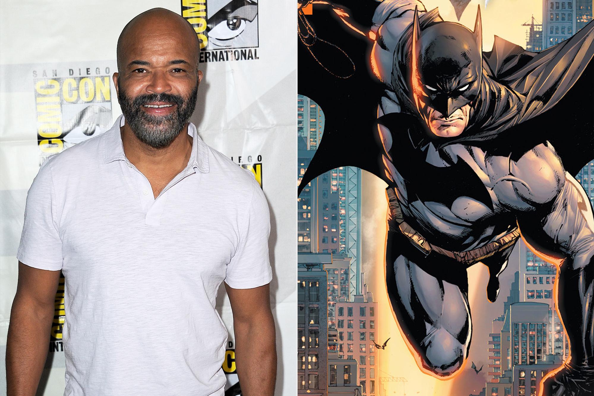 Jeffrey Wright and Batman