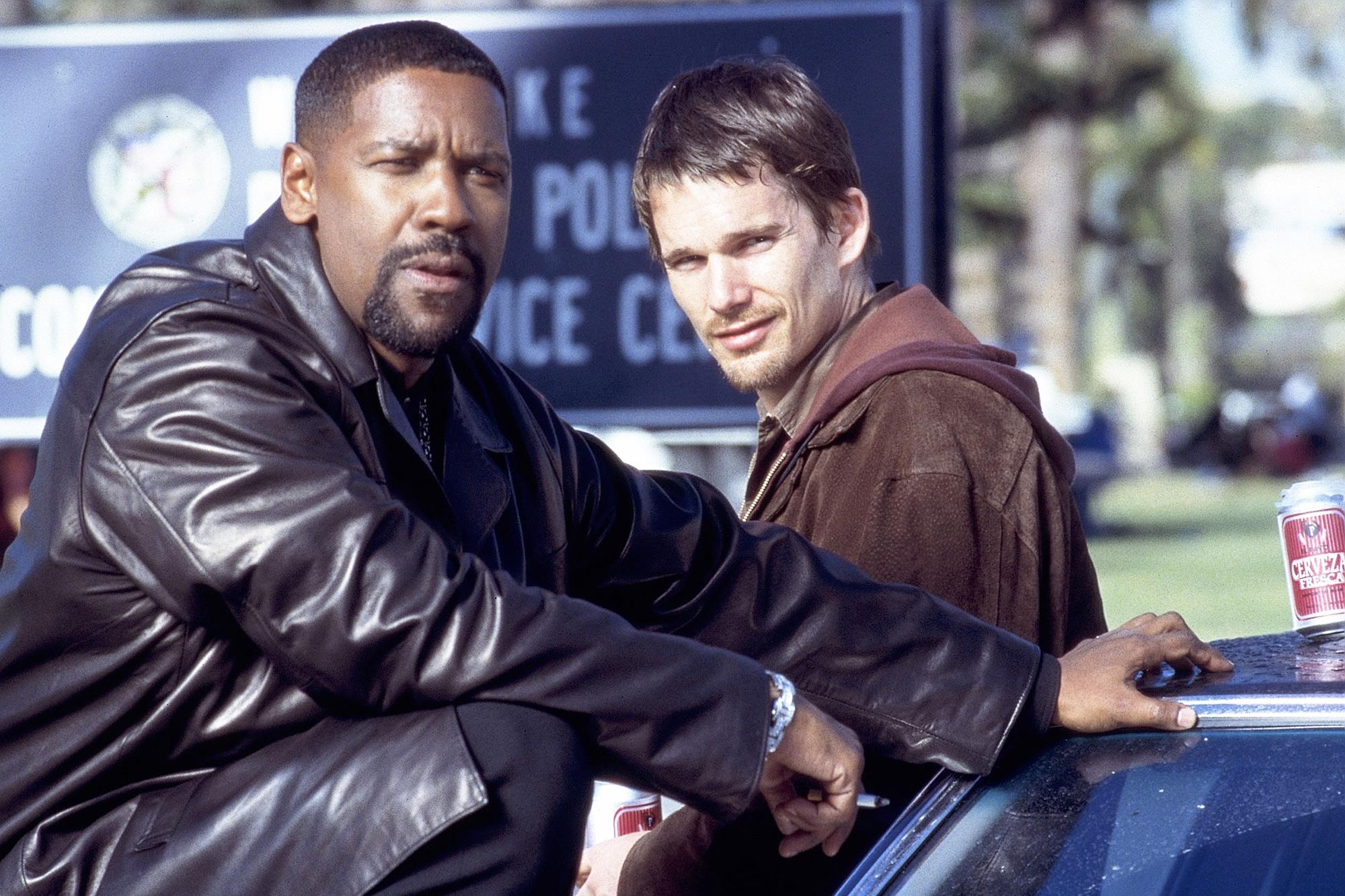 Denzel Washington and Ethan Hawke in Training Day 2001