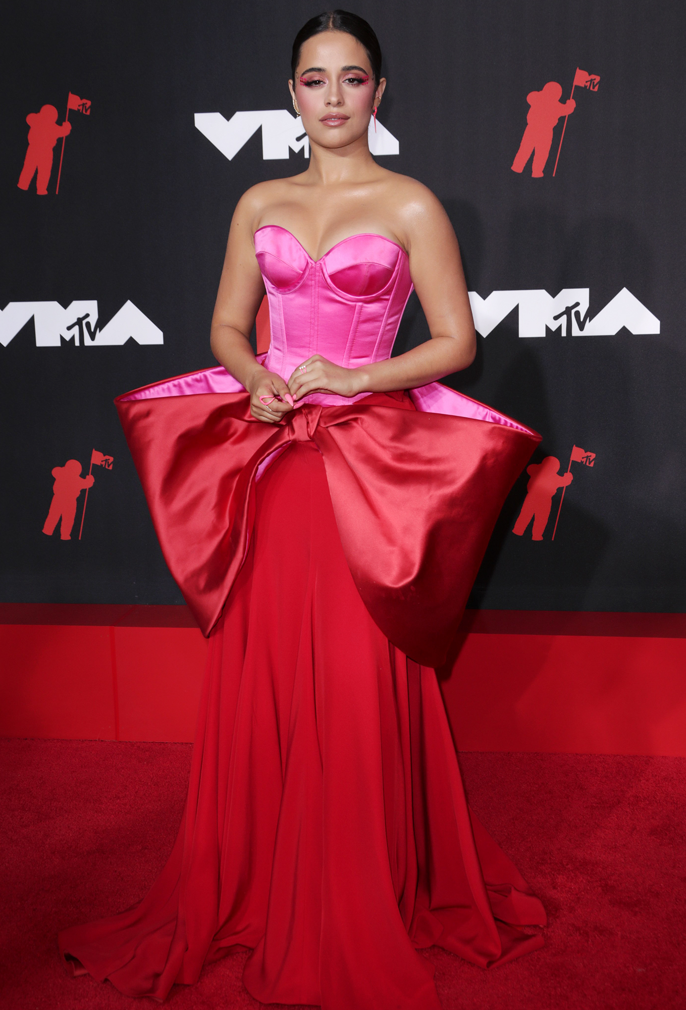 Camila Cabello arrives at the 2021 MTV Video Music Awards