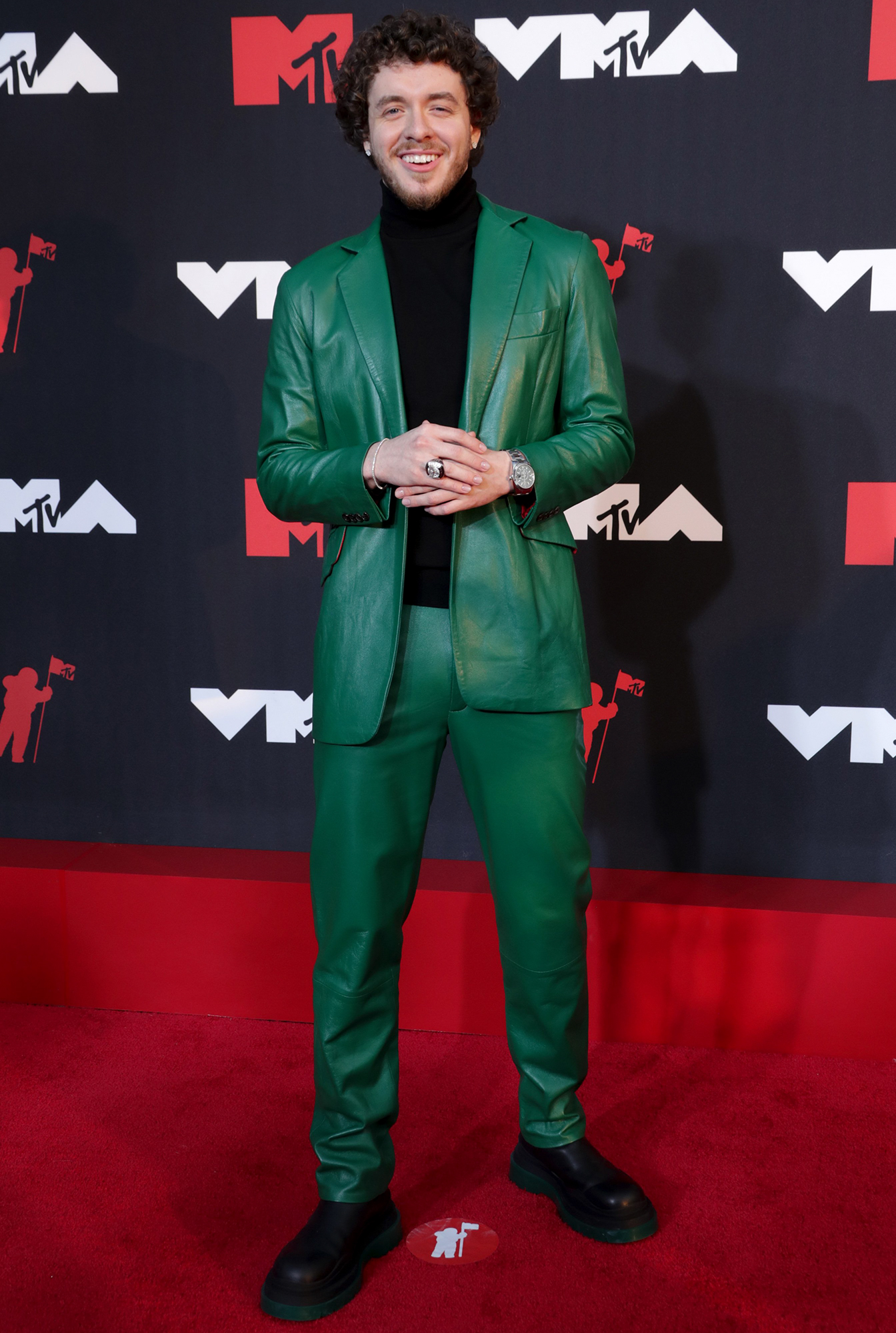Jack Harlow arrives at the 2021 MTV Video Music Awards