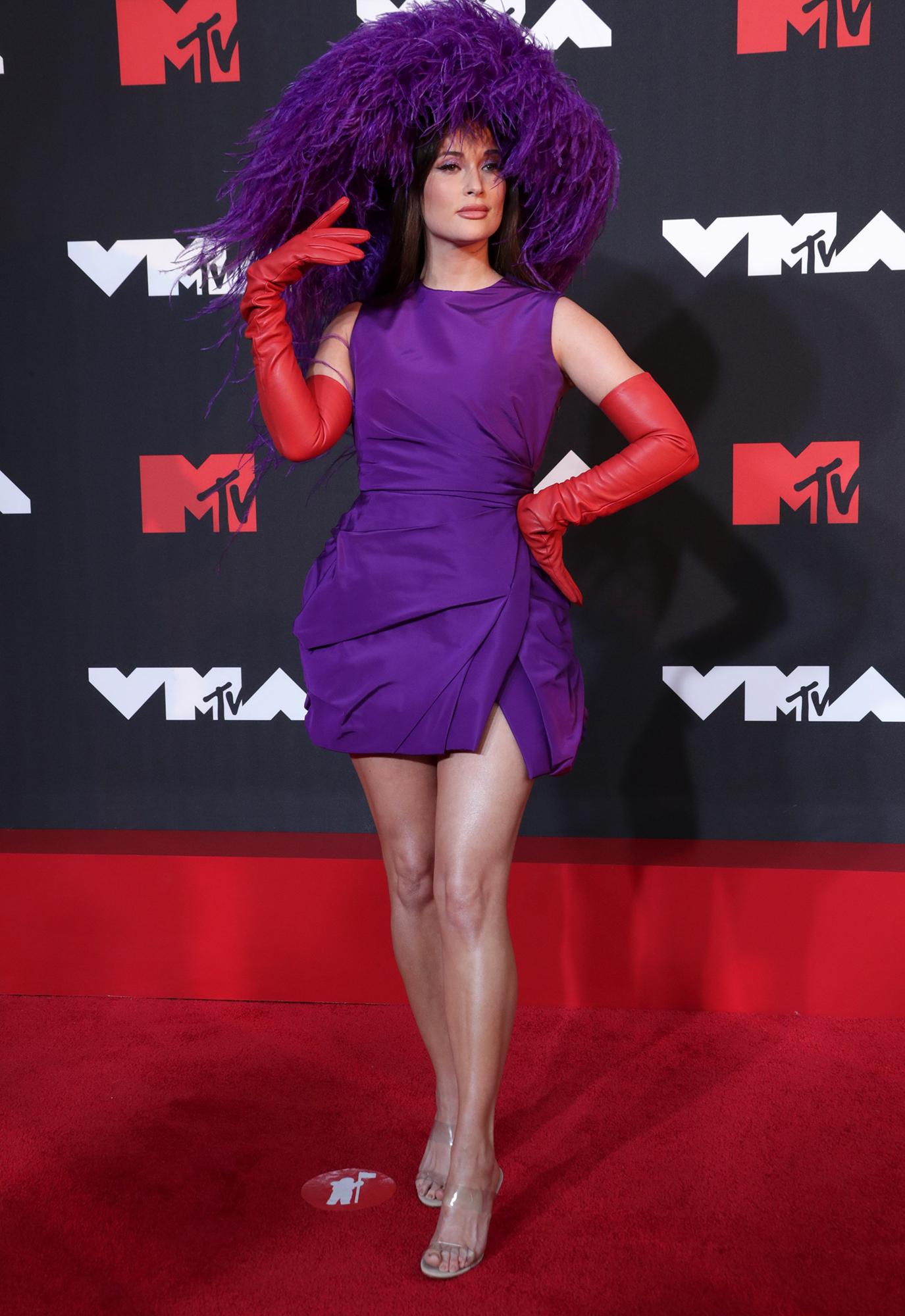 Kacey Musgraves at the 2021 MTV Video Music Awards