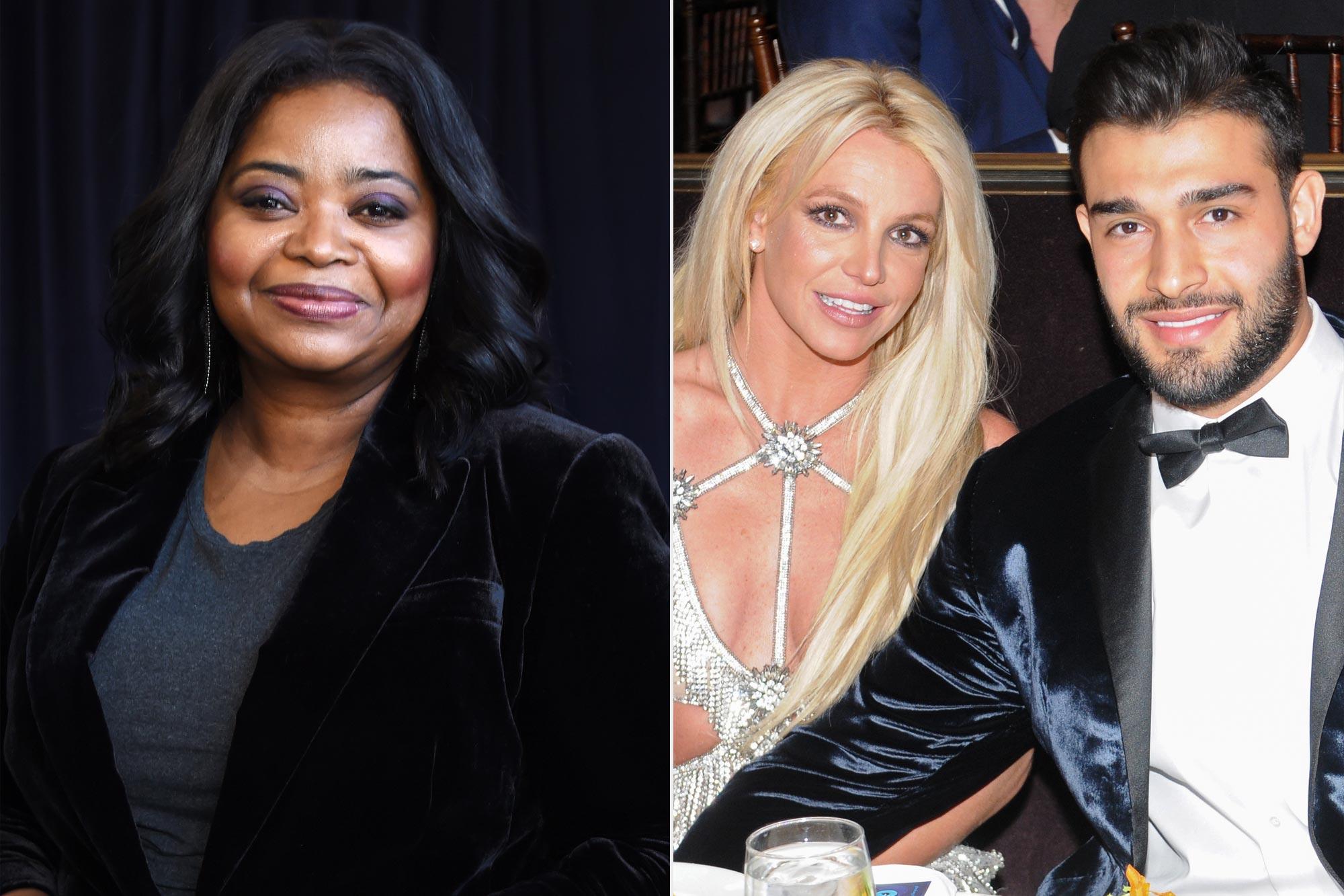 Octavia Spencer advises Britney Spears to get a prenup