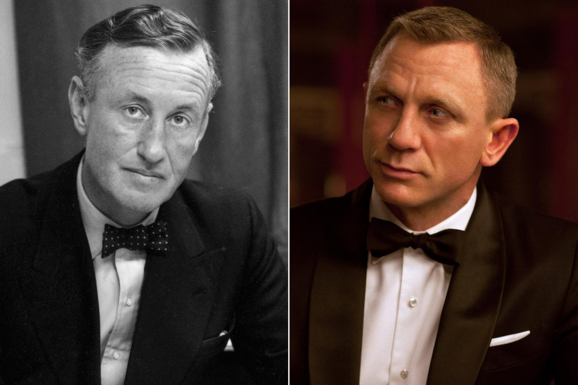 Ian Fleming; Daniel Craig as James Bond