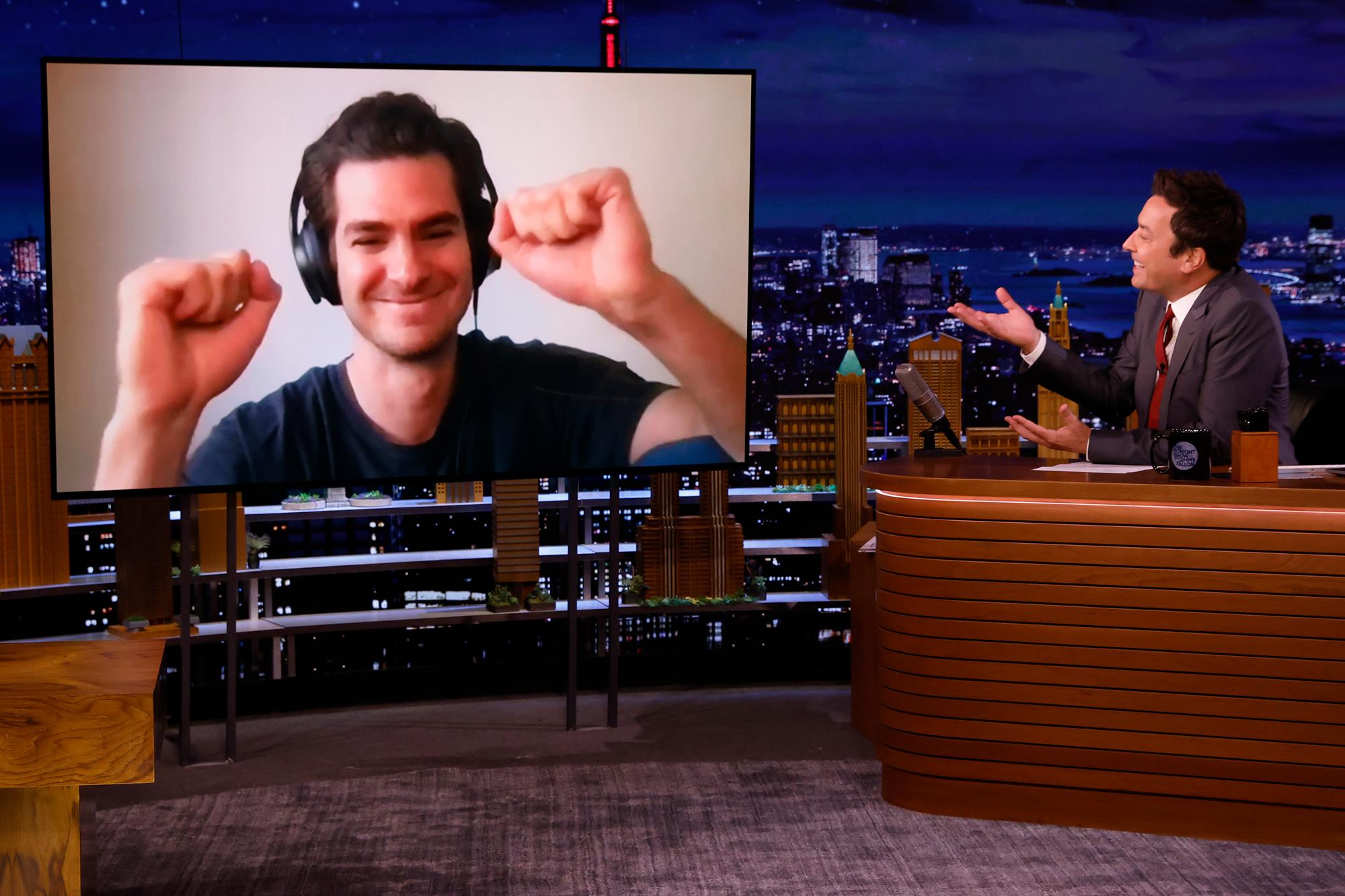 The Tonight Show Starring Jimmy Fallon- Andrew Garfield